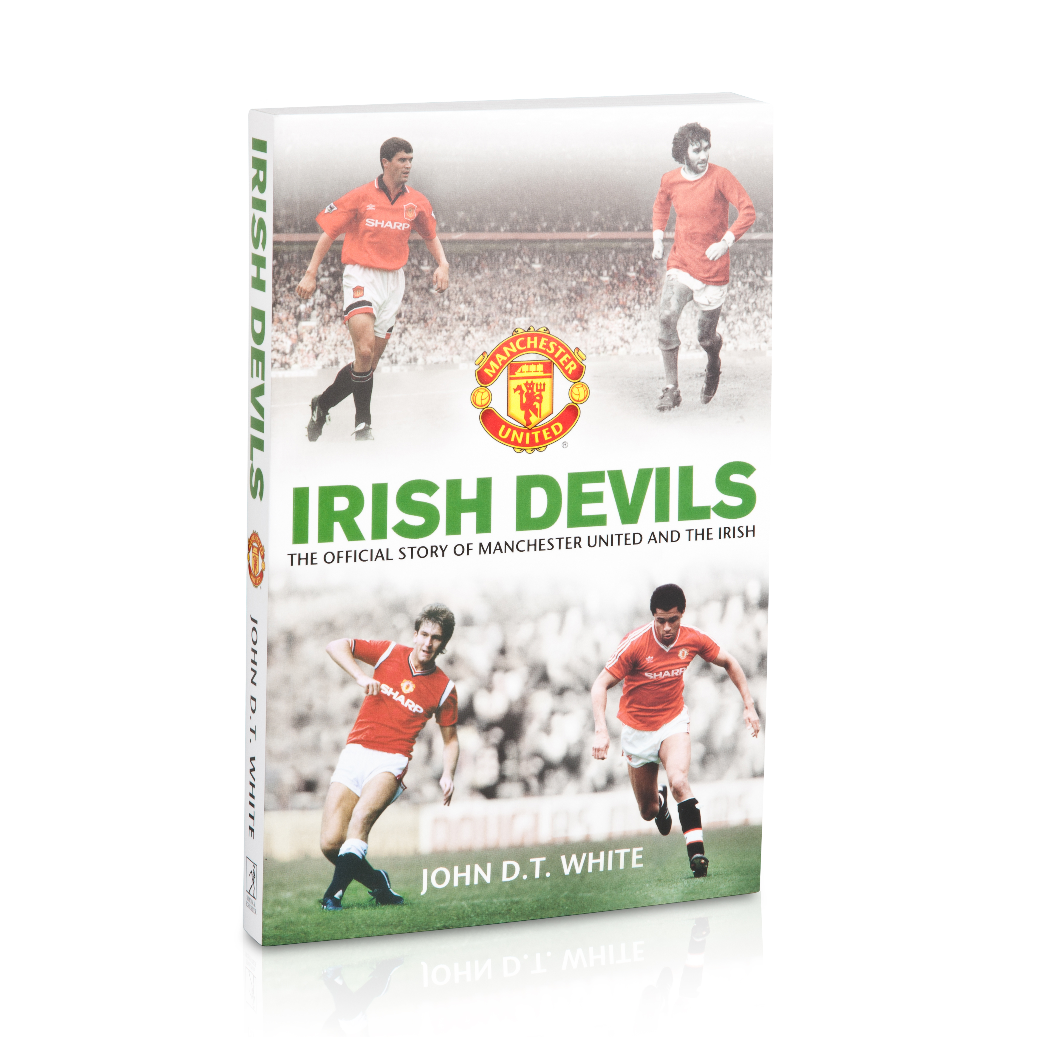 Manchester United Irish Devils - Book
