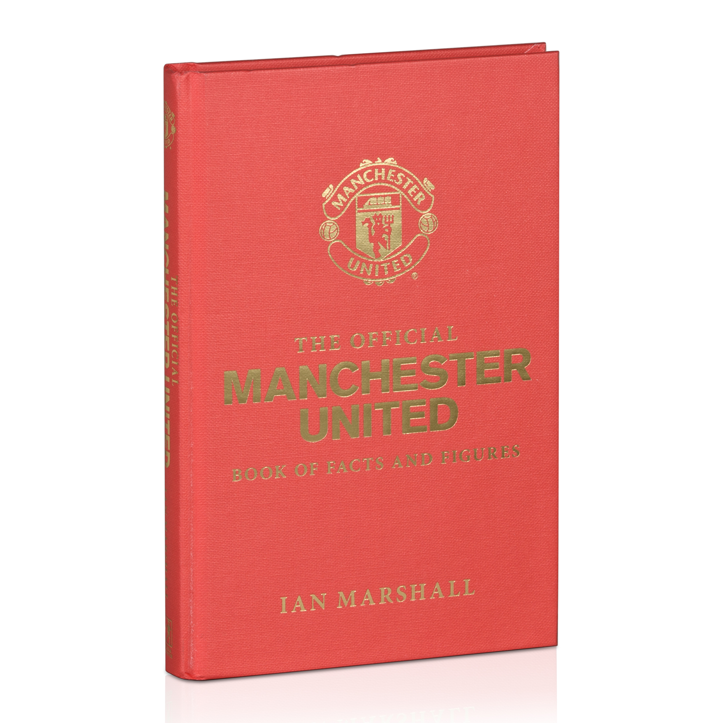 Manchester United The official Facts and Figures - Hardback Book