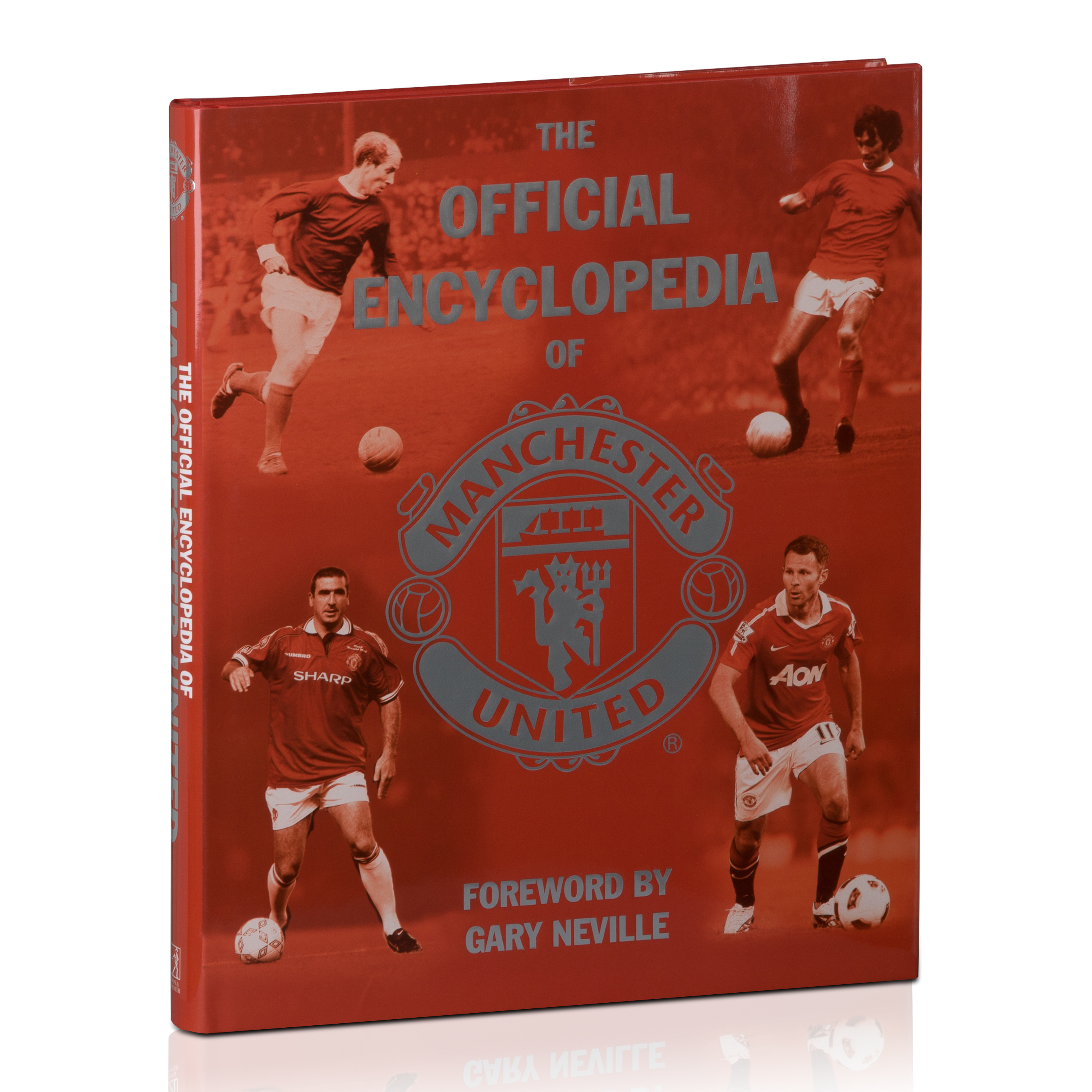 Manchester United The Official Encyclopaedia - Hardback Book