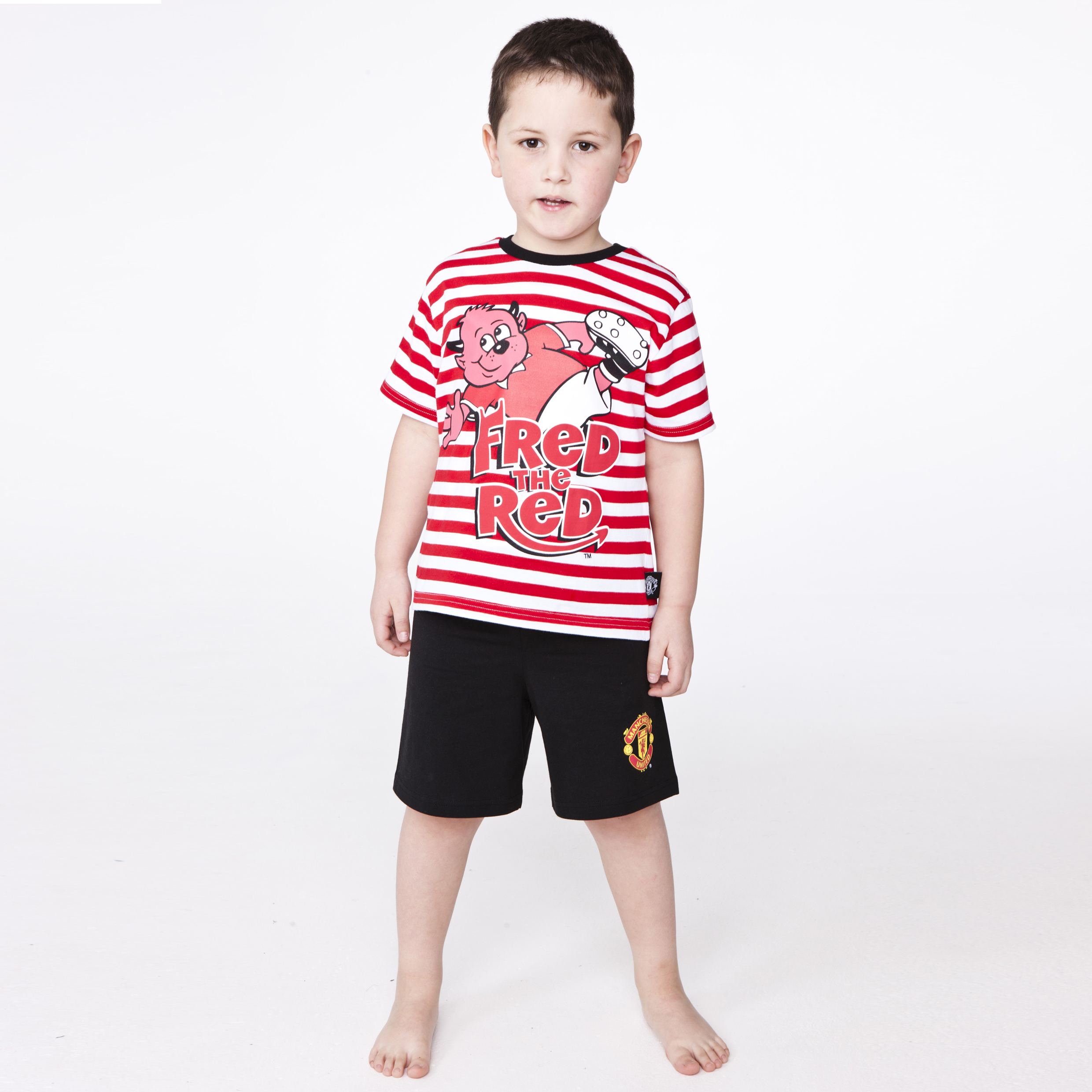 Manchester United Fred the Red Pyjamas - Infant Boys