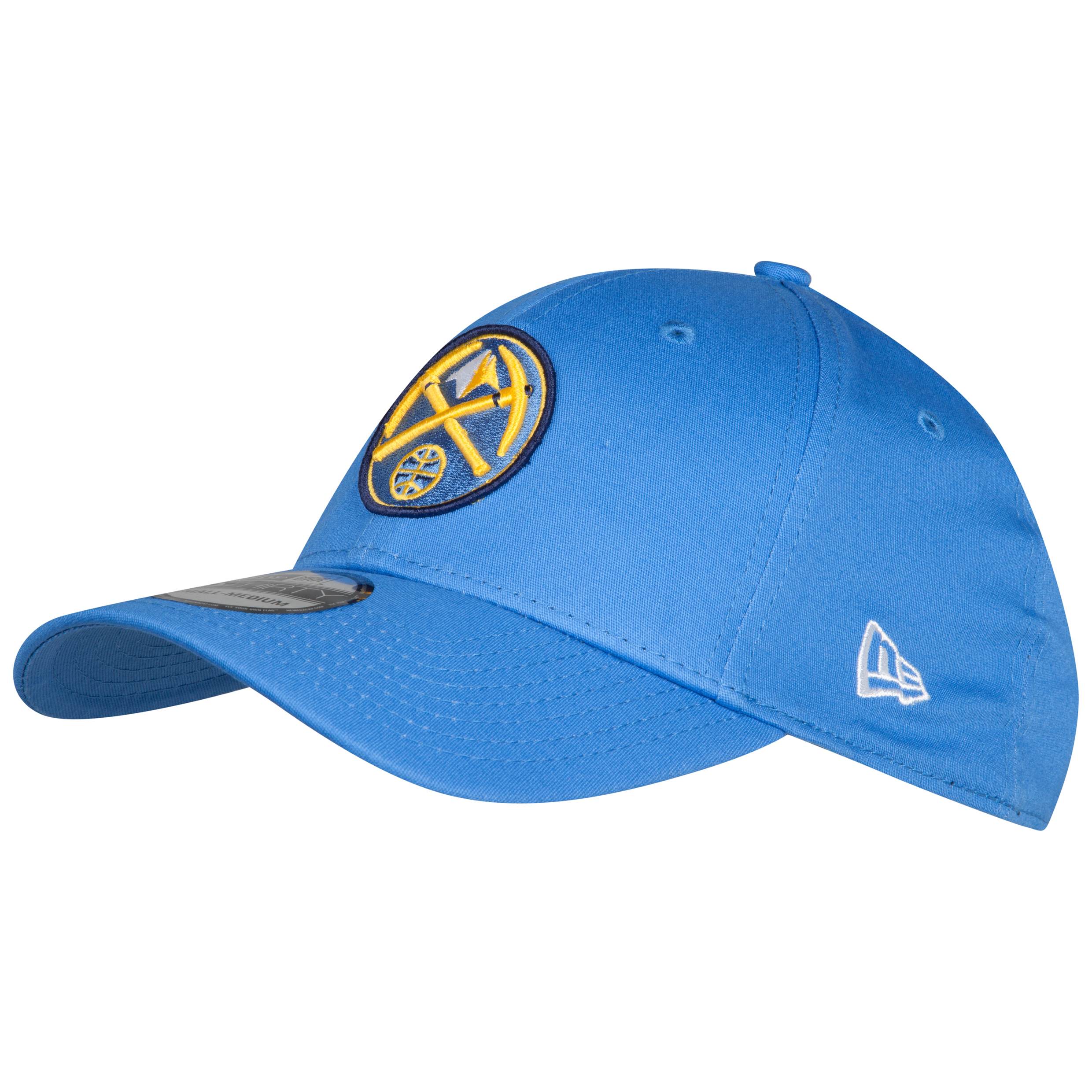 Denver Nuggets New Era 39Thirty Secondary Logo Basic Cap