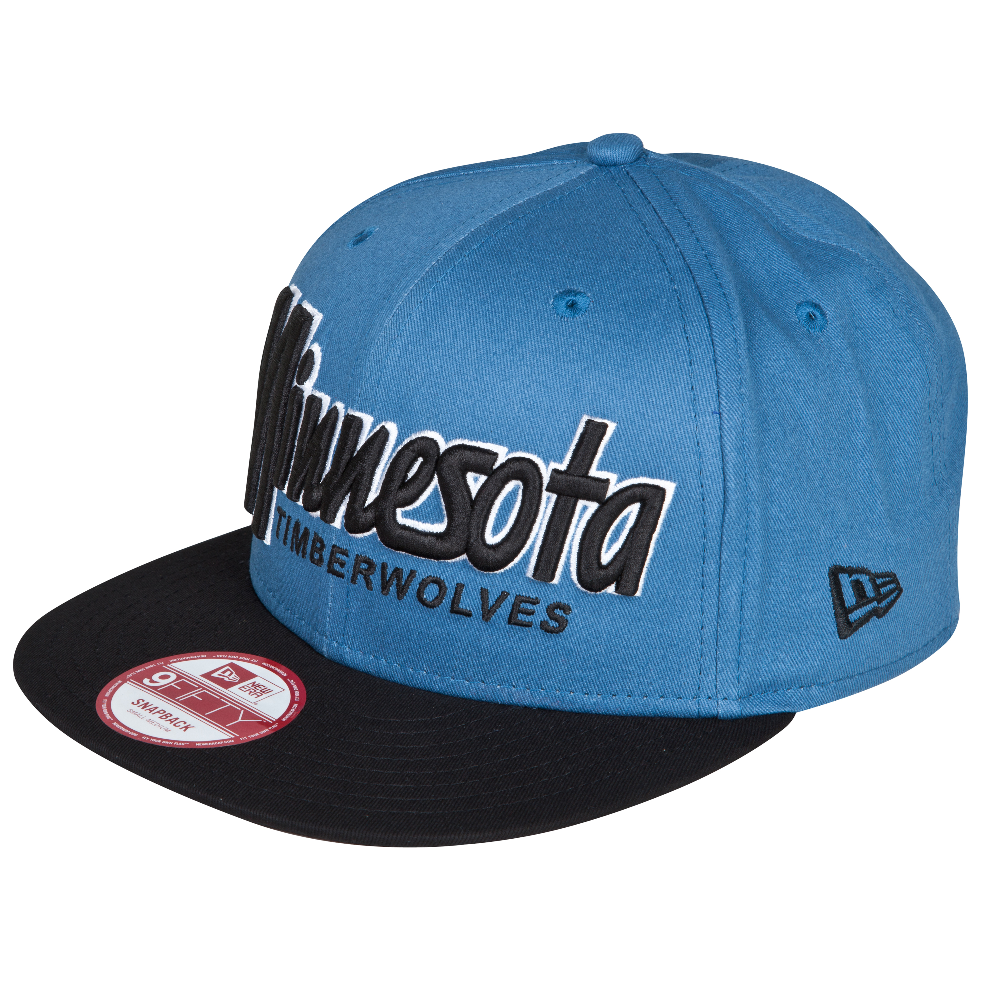 Minnesota Timberwolves New Era 9Fifty Snapback Wordmark Cap