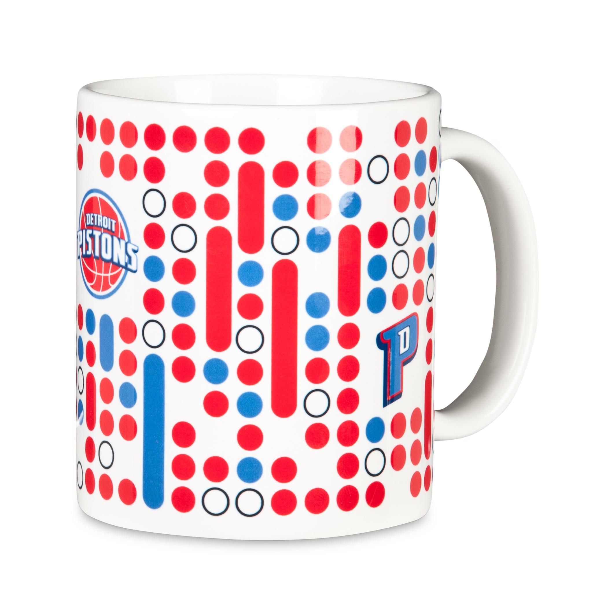 Detroit Pistons 11oz Mug