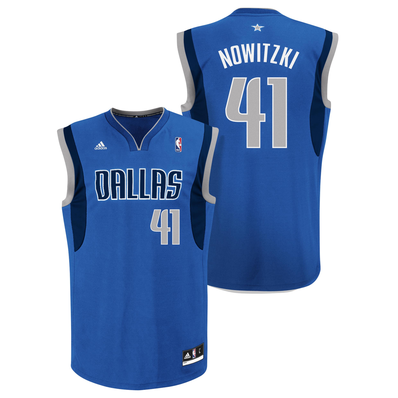 Dallas Mavericks Road Replica Jersey - Dirk Nowitzki - Mens