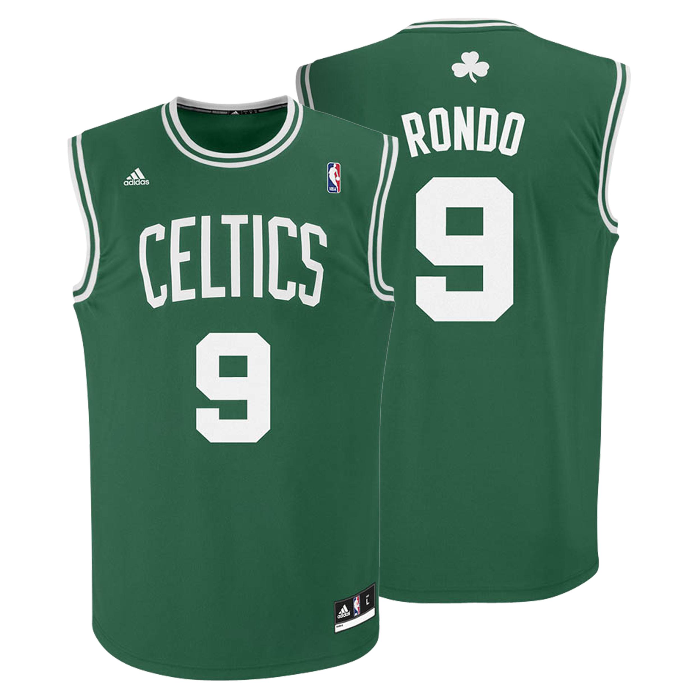 Boston Celtics Road Replica Jersey - Rajon Rondo - Mens