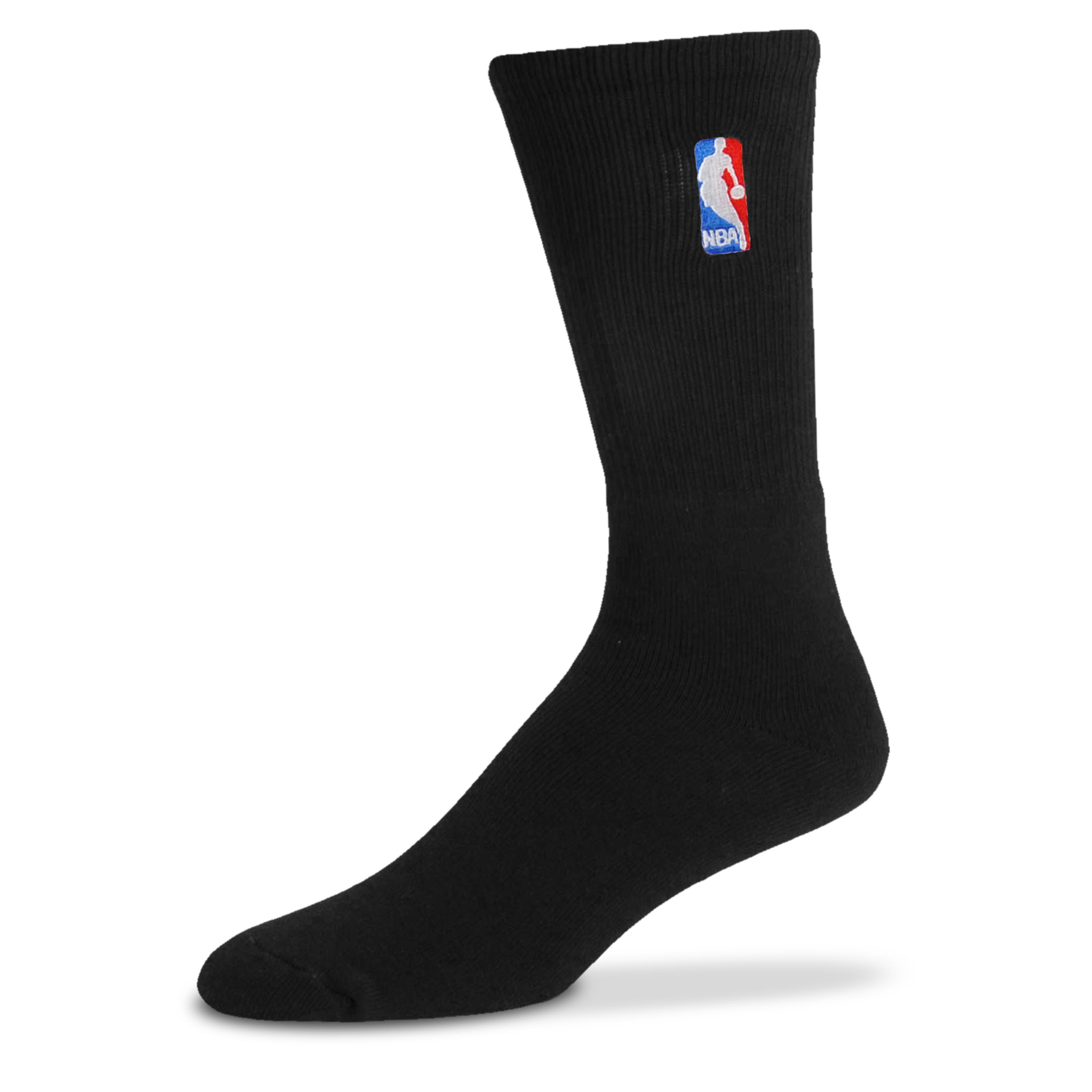 NBA Logoman Crew Sock - Black