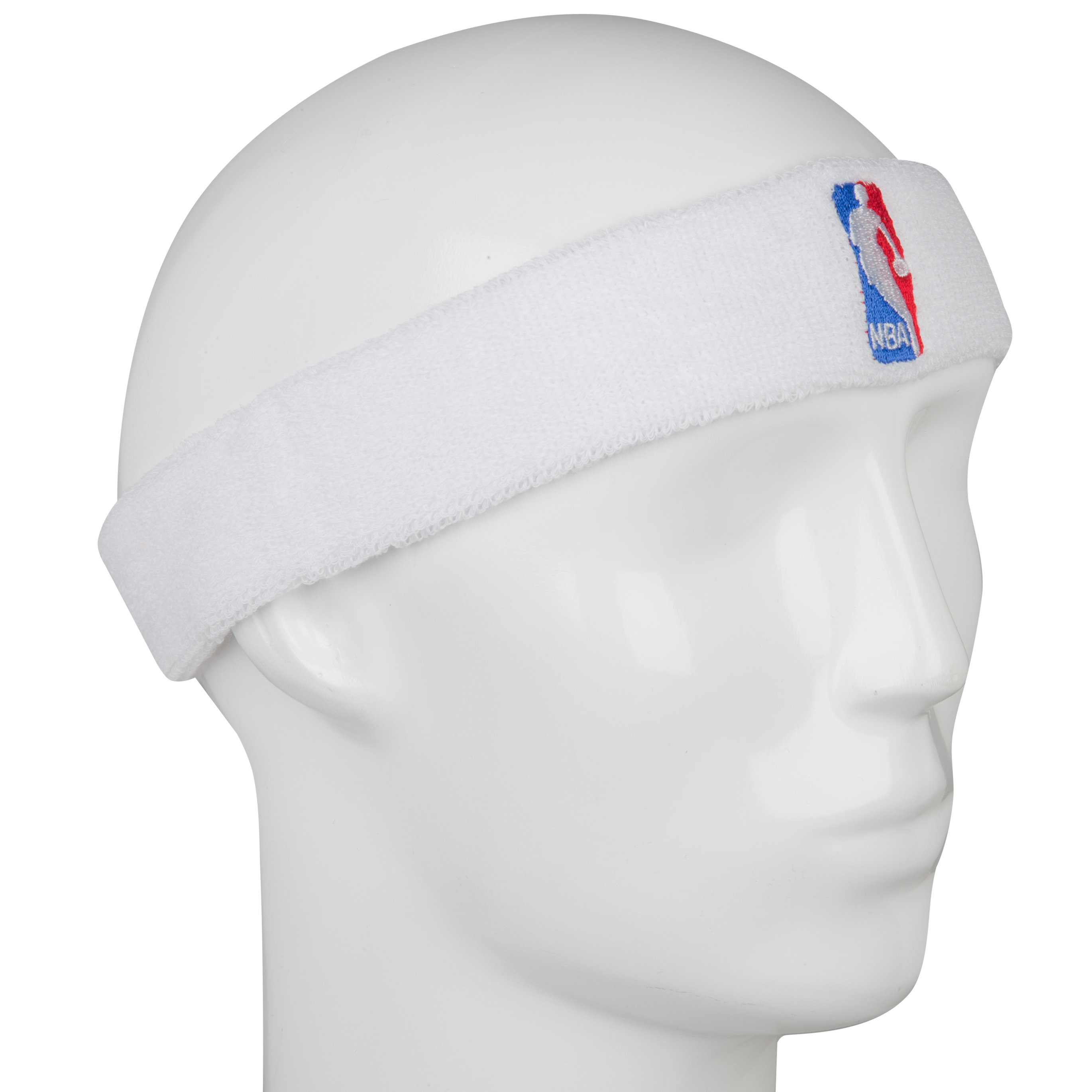 NBA Logoman Headband - White