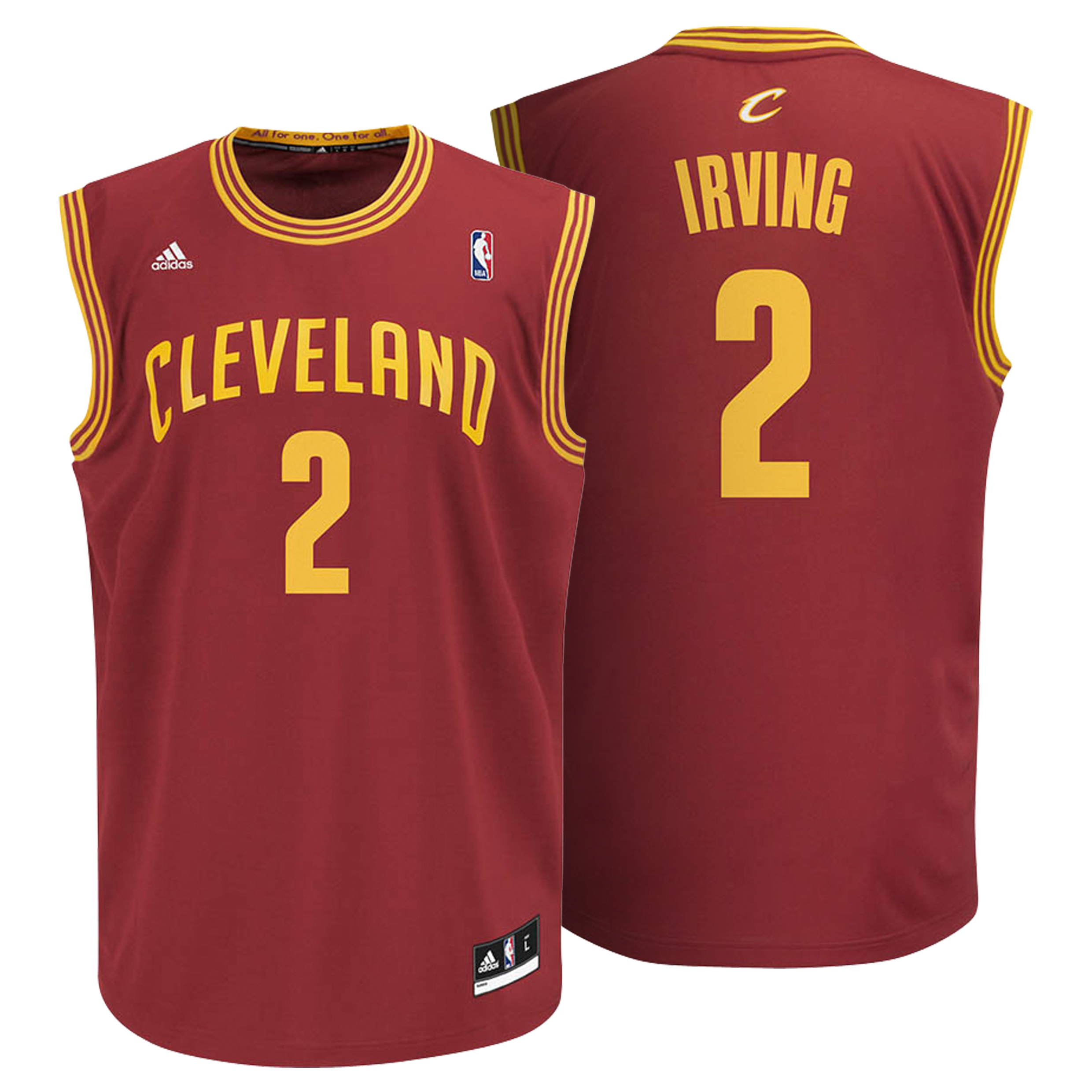 Cleveland Cavaliers Road Replica Jersey -Irving - Mens
