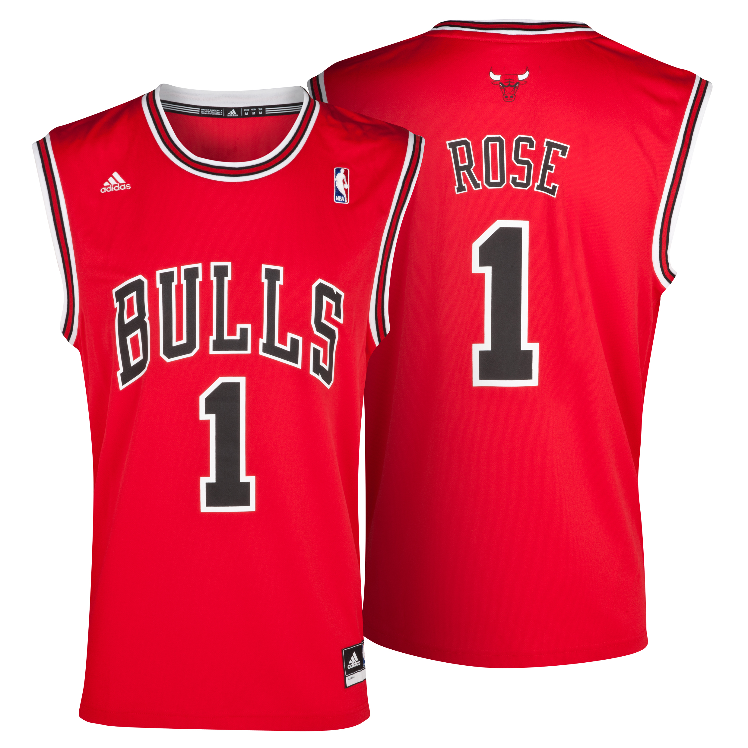 Chicago Bulls Road Replica Jersey - Derrick Rose - Mens