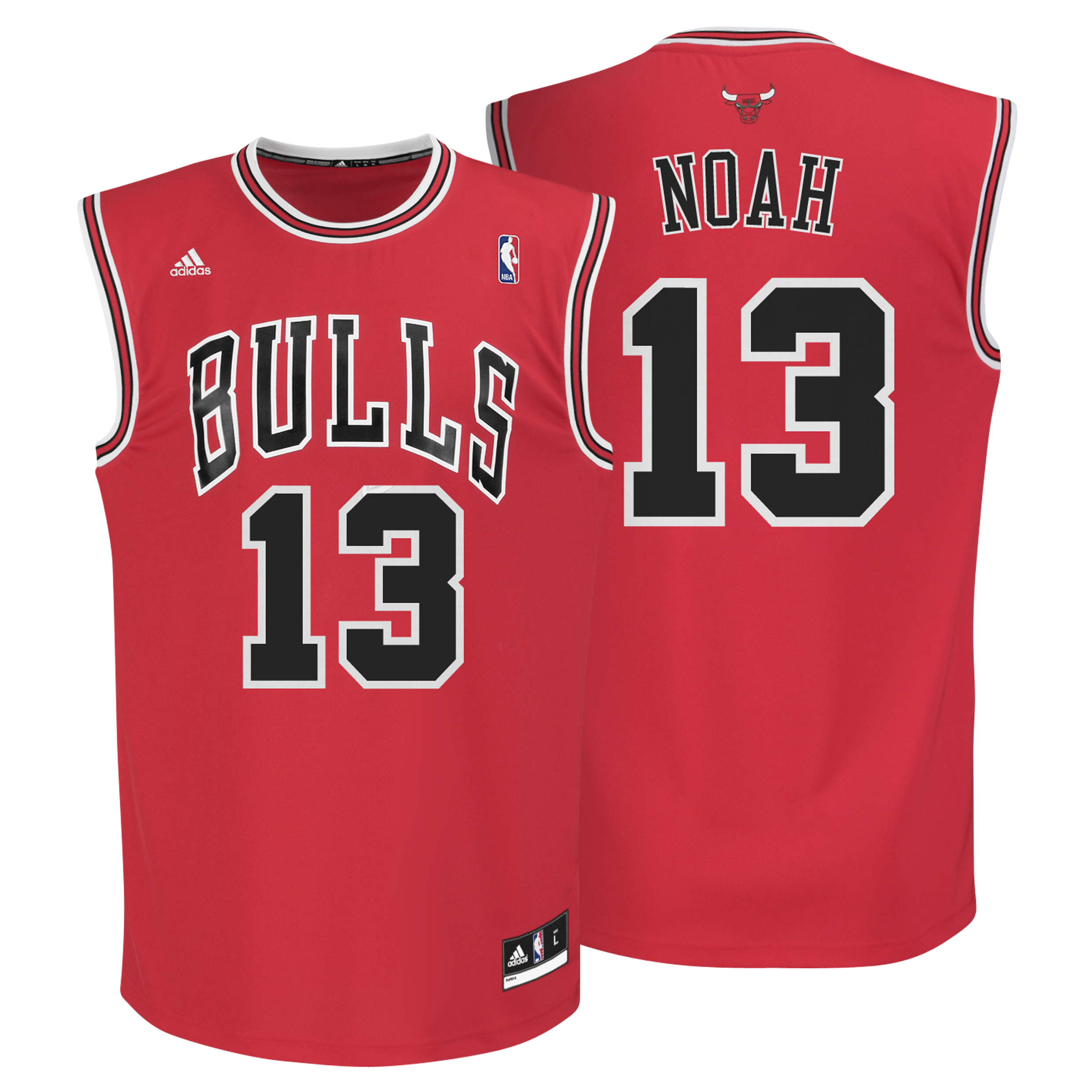 Chicago Bulls Road Replica Jersey - Joakim Noah - Mens