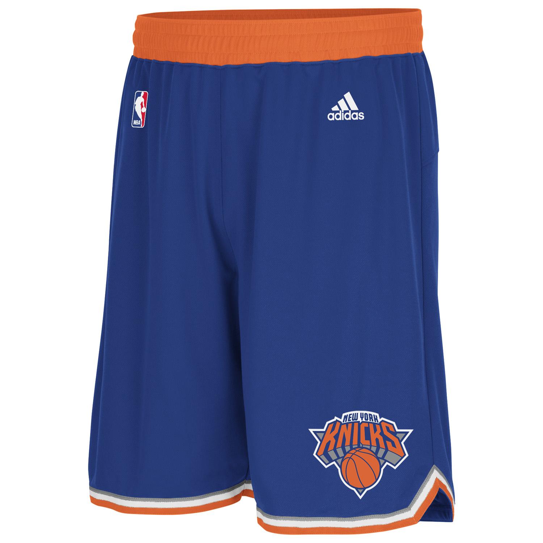 New York Knicks Road Swingman Shorts  Mens