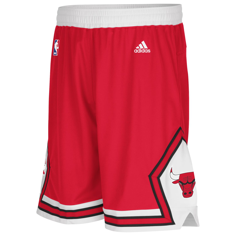 Chicago Bulls Road Swingman Shorts - Mens