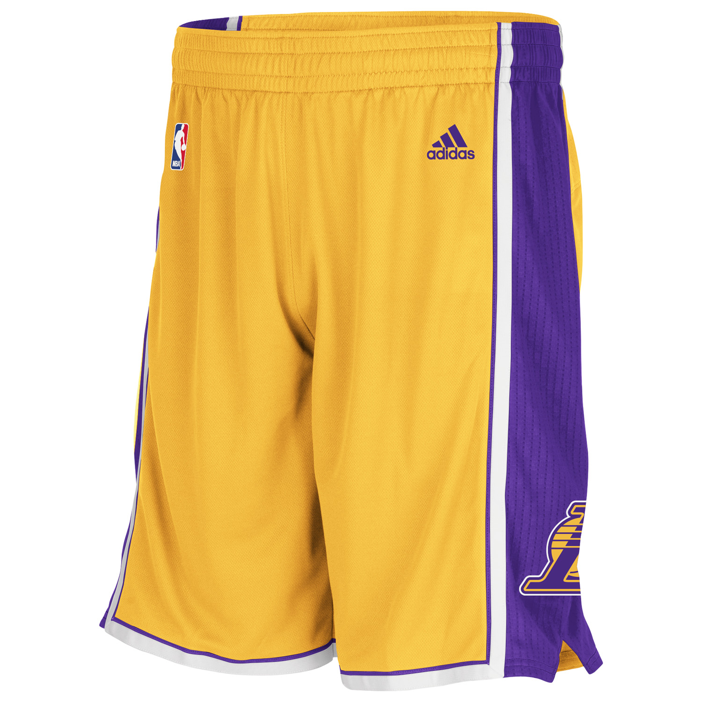 Los Angeles Lakers Home Swingman Shorts  Mens