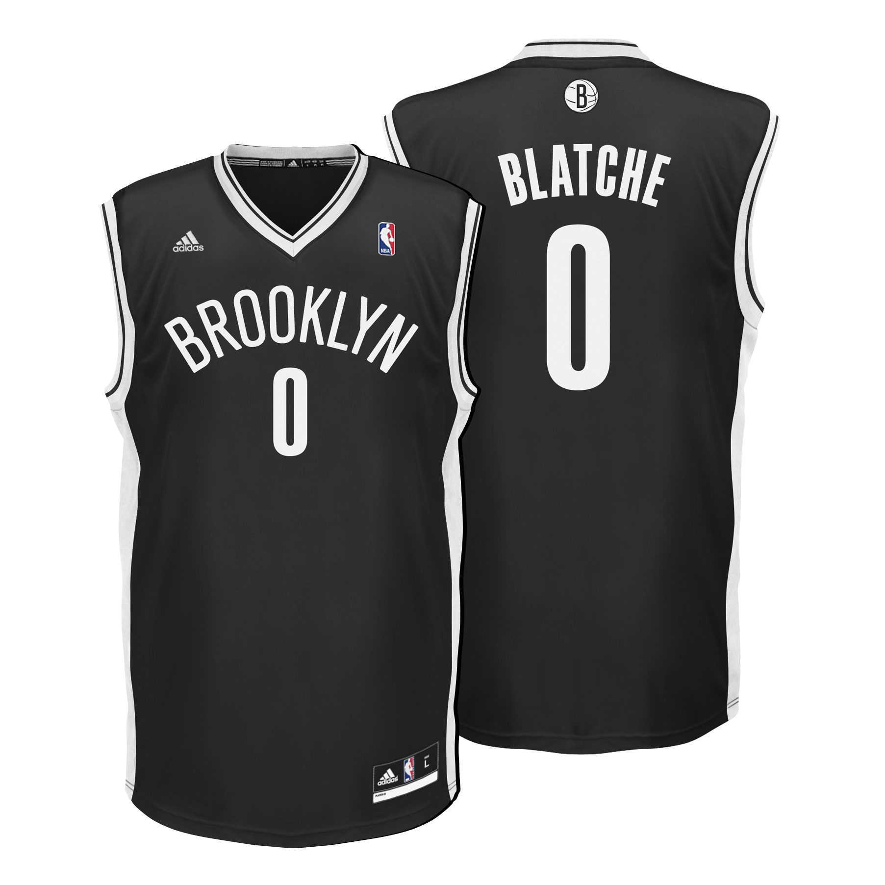 Brooklyn Nets Road Replica Jersey - Andray Blatche - Mens