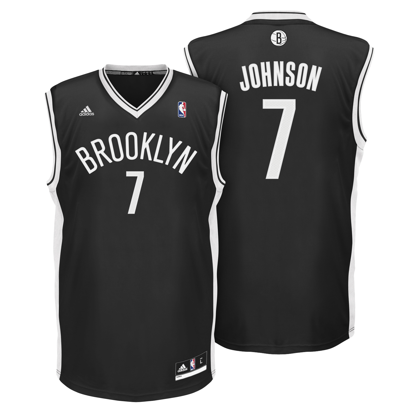Brooklyn Nets Road Replica Jersey - Joe Johnson - Mens