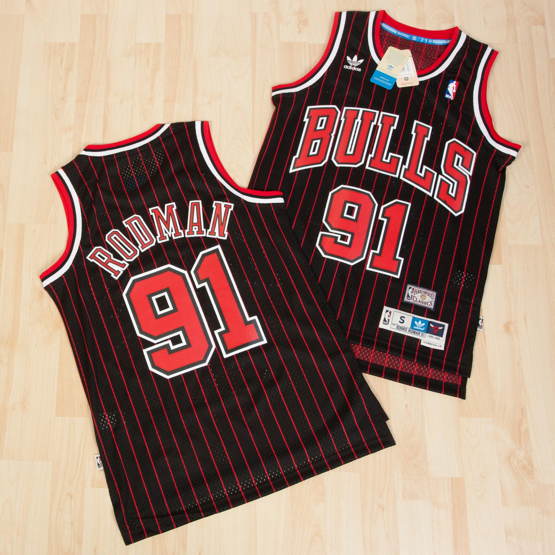 Chicago Bulls Alternate Soul Swingman Jersey -Dennis Rodman - Mens