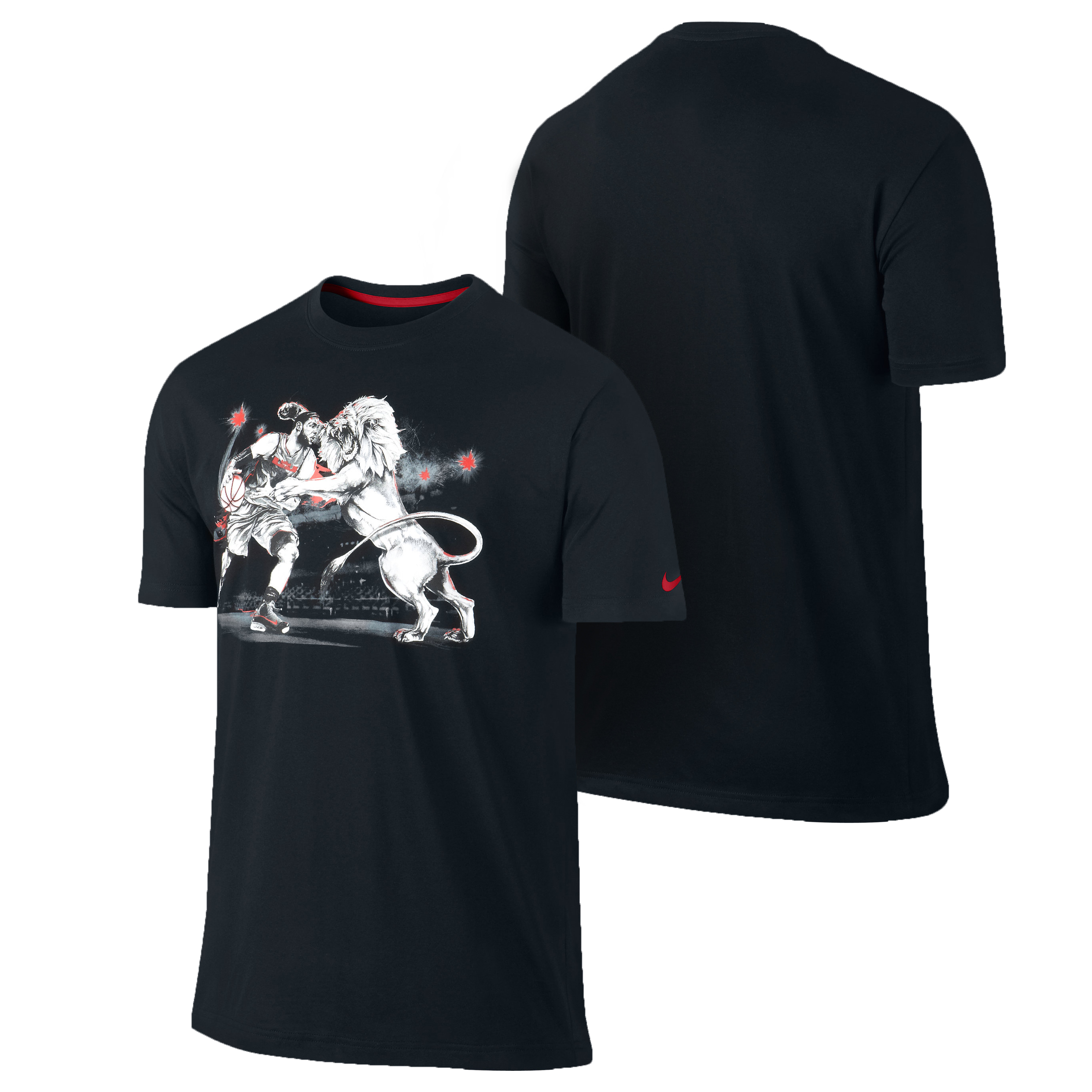 Nike Lebron Lion Within T-Shirt Black