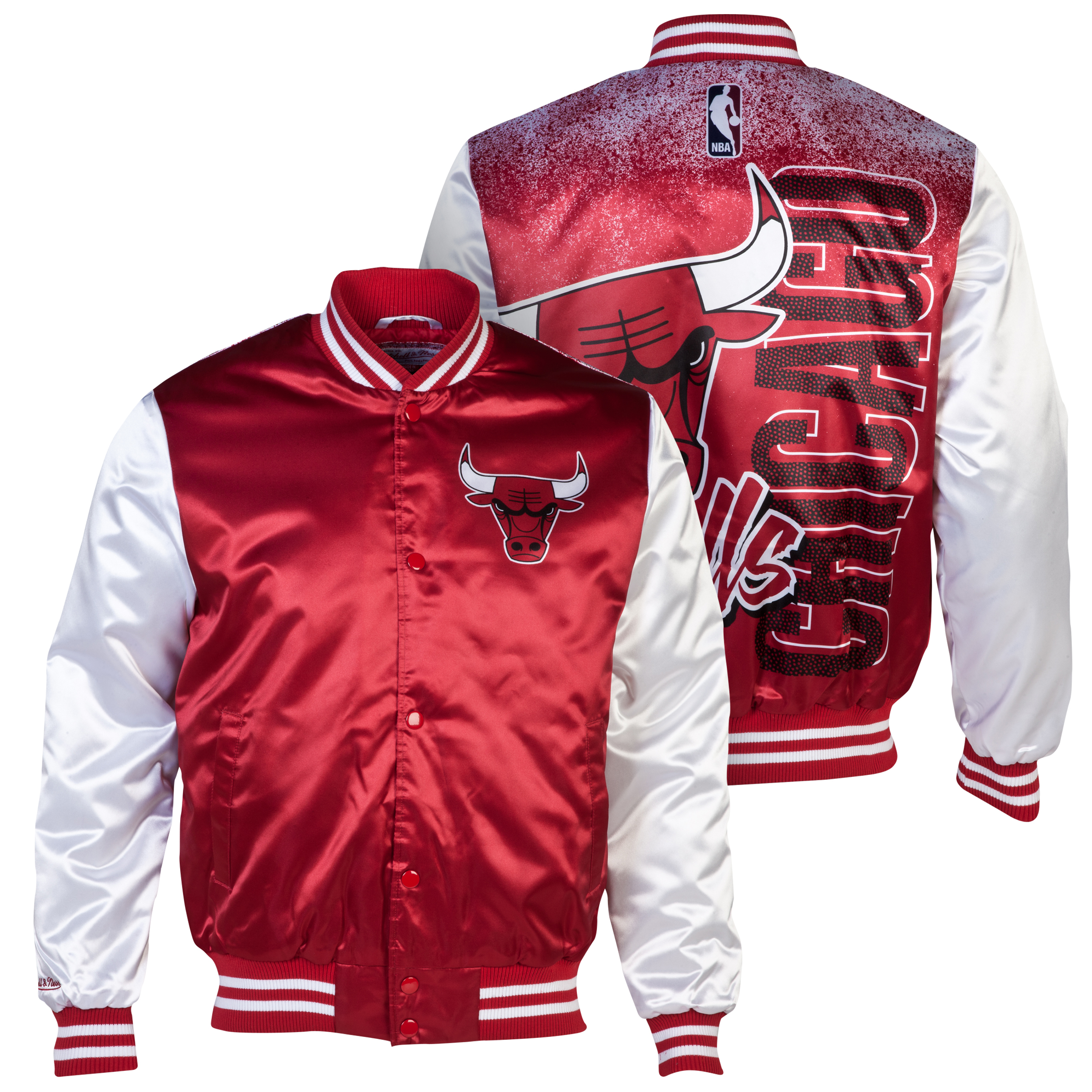 Chicago Bulls Sublimated Jacket Red