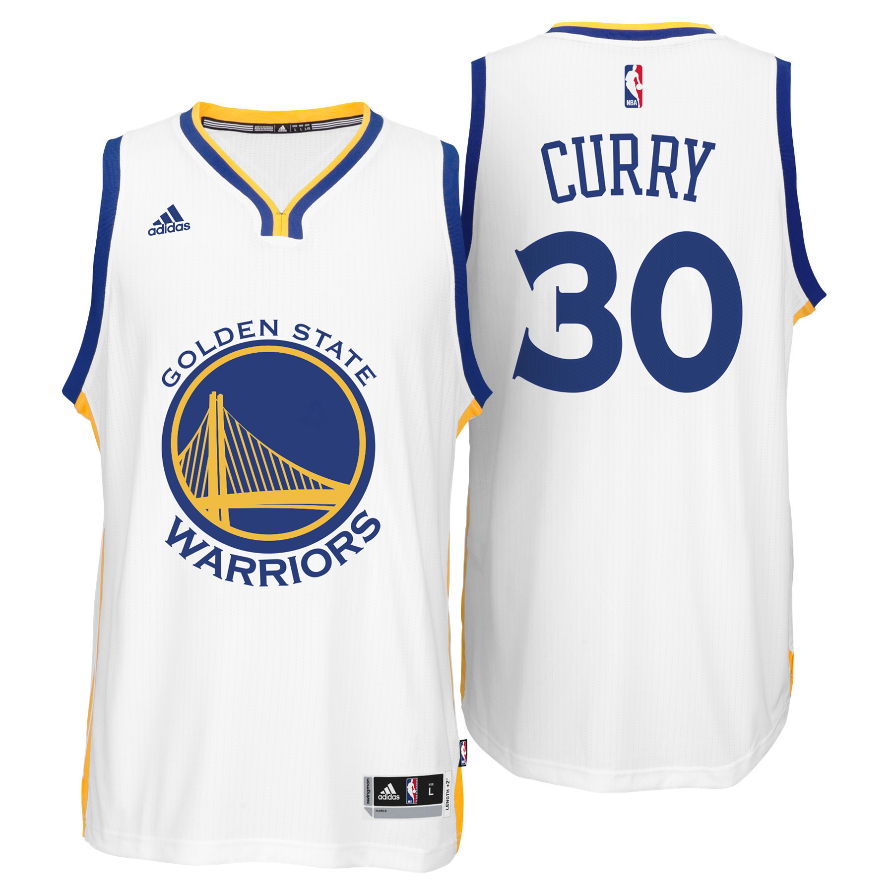 Golden State Warriors Home Swingman Jersey - Stephen Curry - Mens