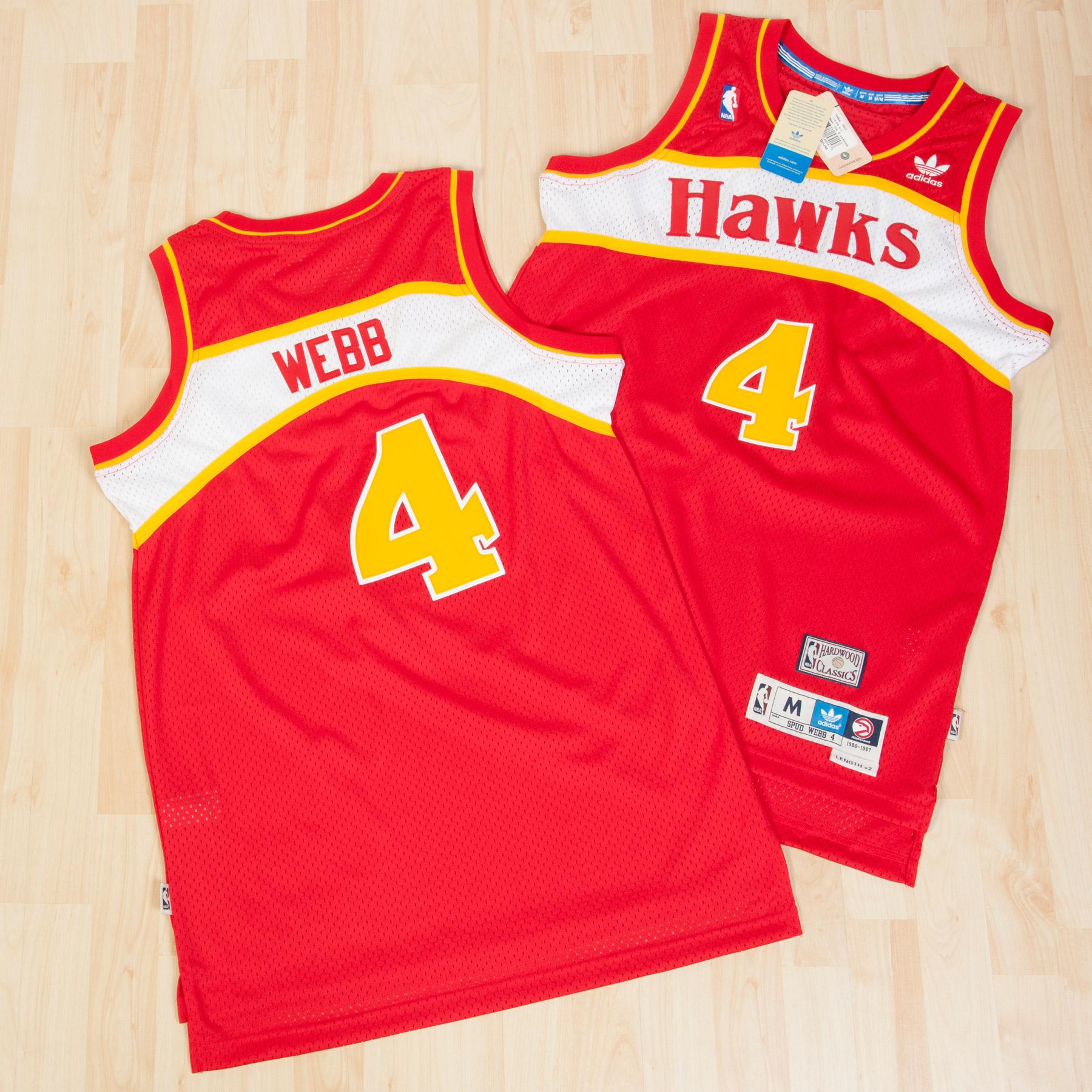 Atlanta Hawks Road Soul Swingman Jersey - Spud Webb - Mens