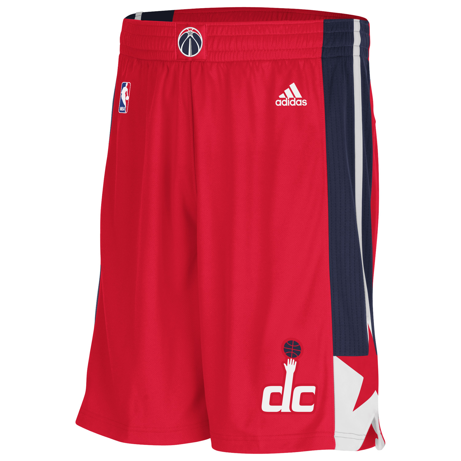 Washington Wizards Road Swingman Shorts - Mens