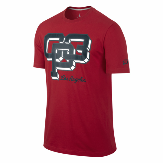 Jordan CP Fresh Air T-Shirt Red