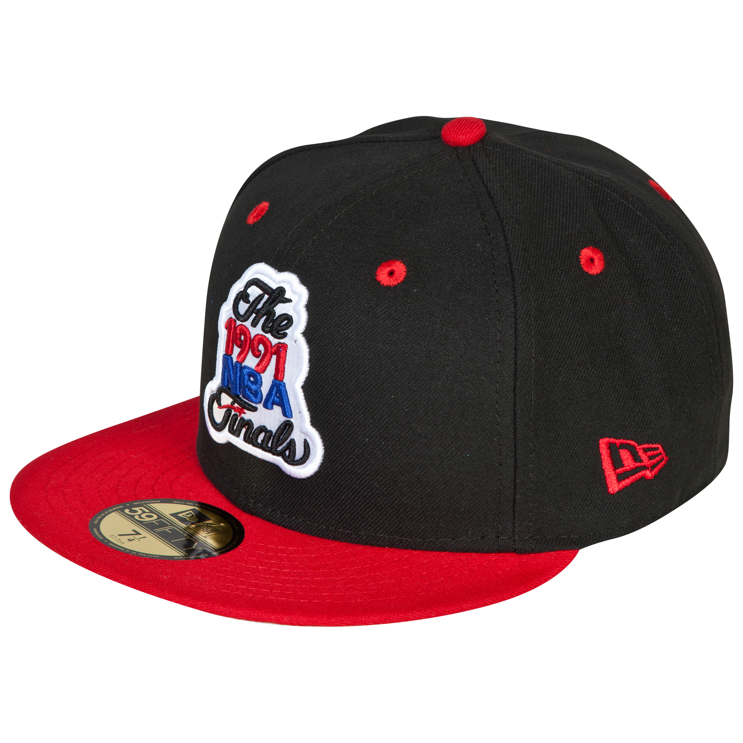 Chicago Bulls New Era Hardwood Classics 1991 59FIFTY Fitted Cap