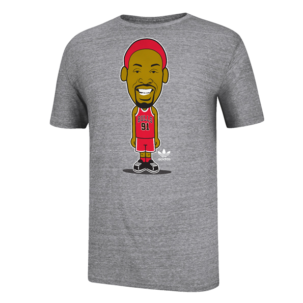 Chicago Bulls adidas originals Rodman Geek T-Shirt