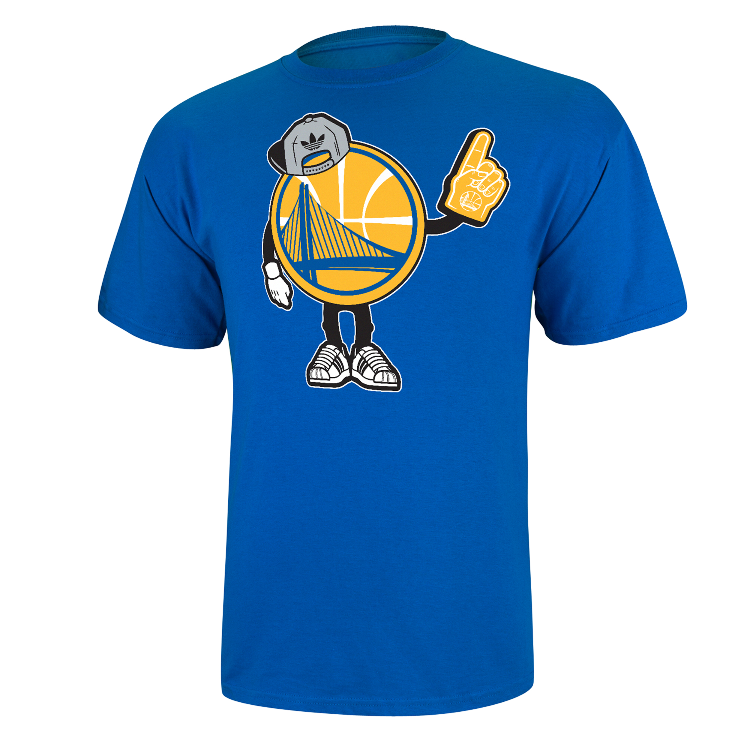 Golden State Warriors adidas originals Little Dude T-Shirt