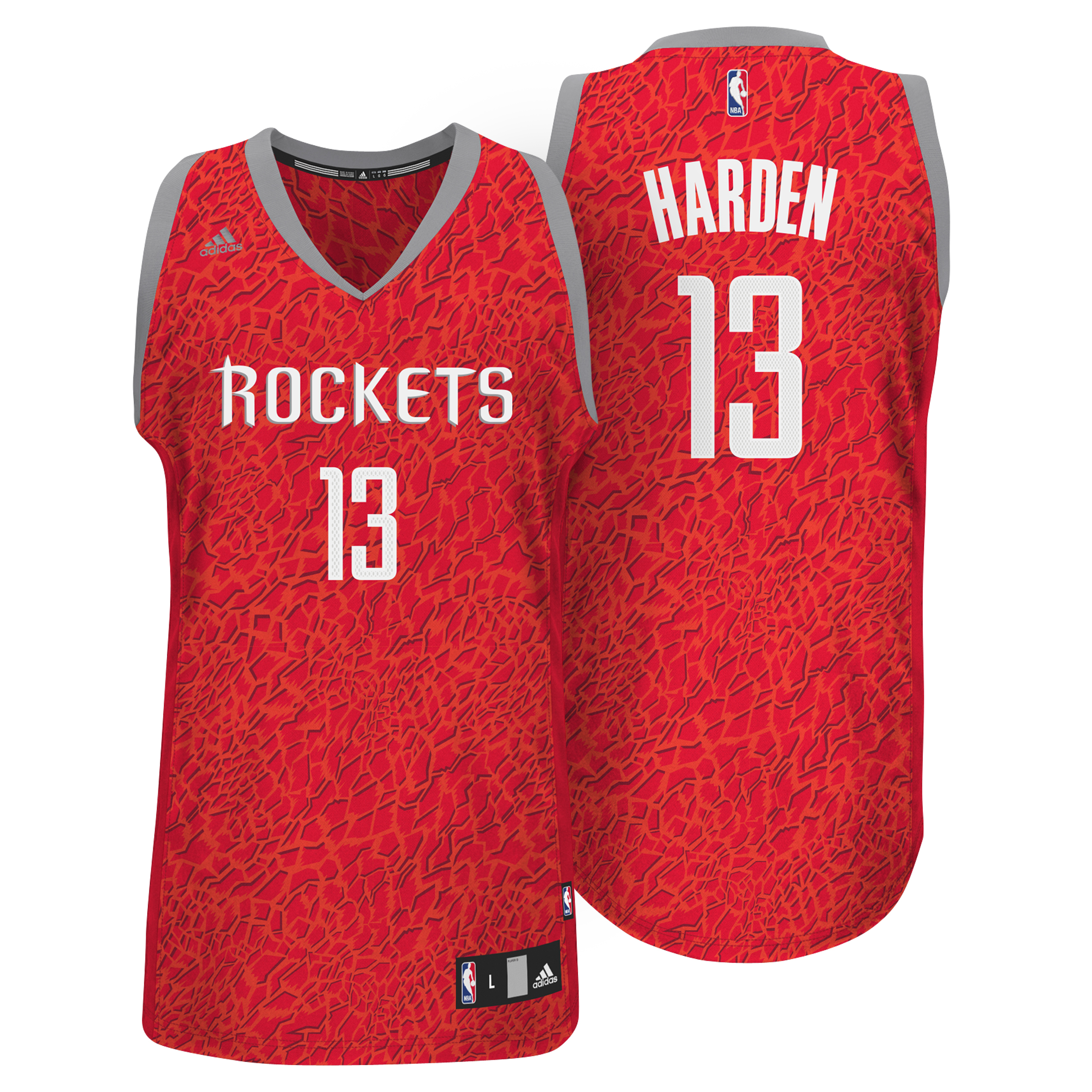 Houston Rockets Crazy Light Swingman Jersey - James Harden - Mens