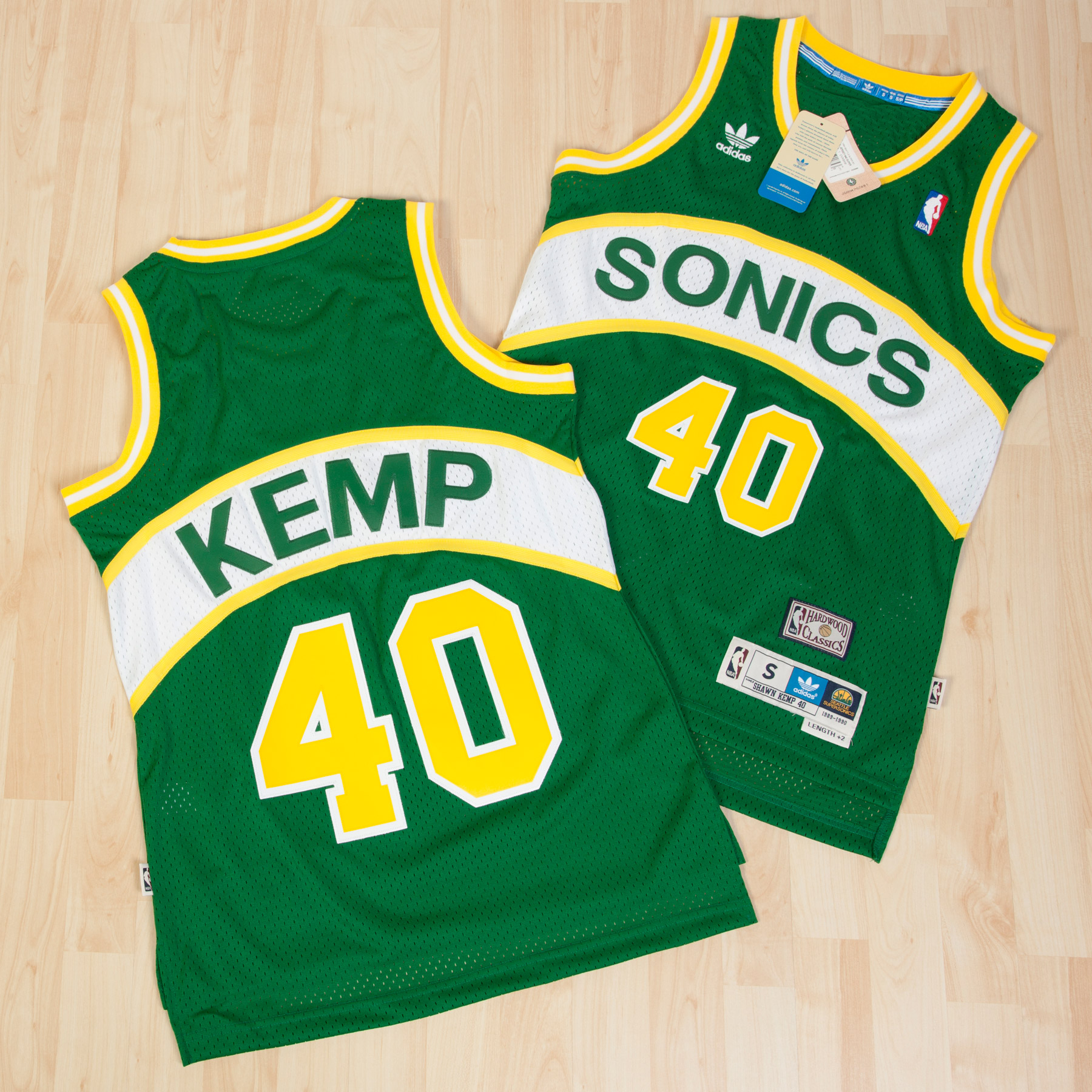 Seattle Supersonics Soul Swingman Jersey - Shawn Kemp - Mens