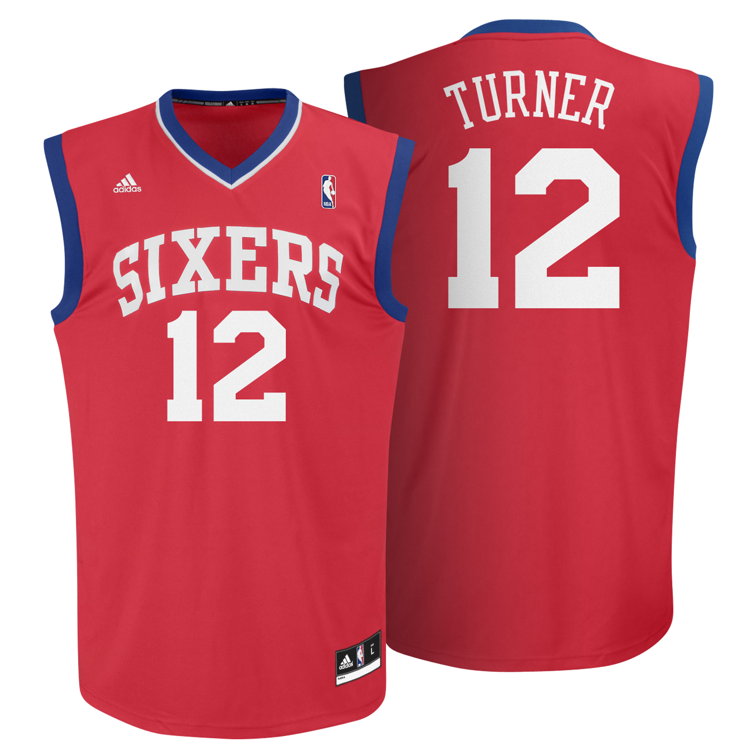 Philadelphia 76ers Road Replica Jersey - Evan Turner - Mens