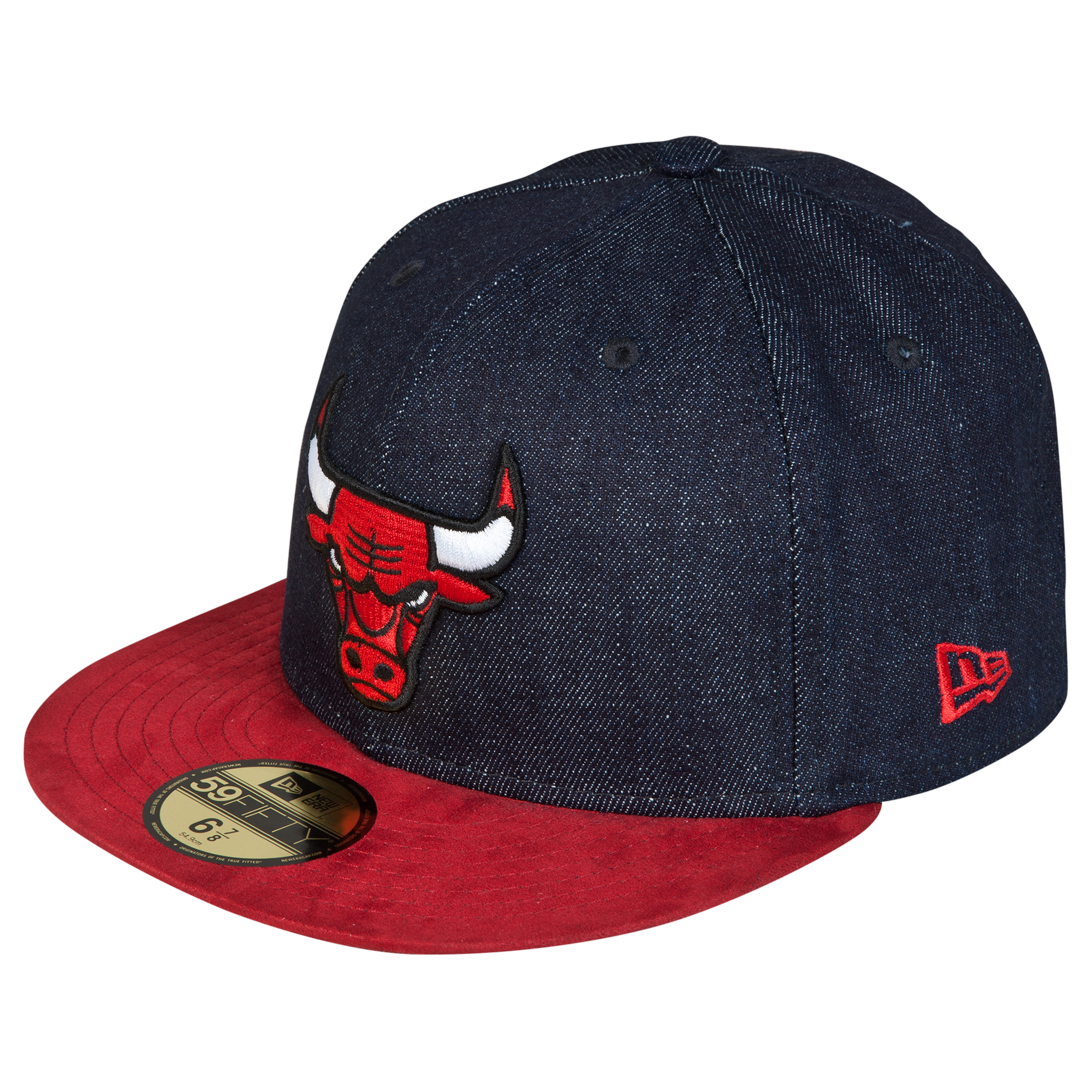 Chicago Bulls Densuede New Era 59FIFTY Fitted Cap