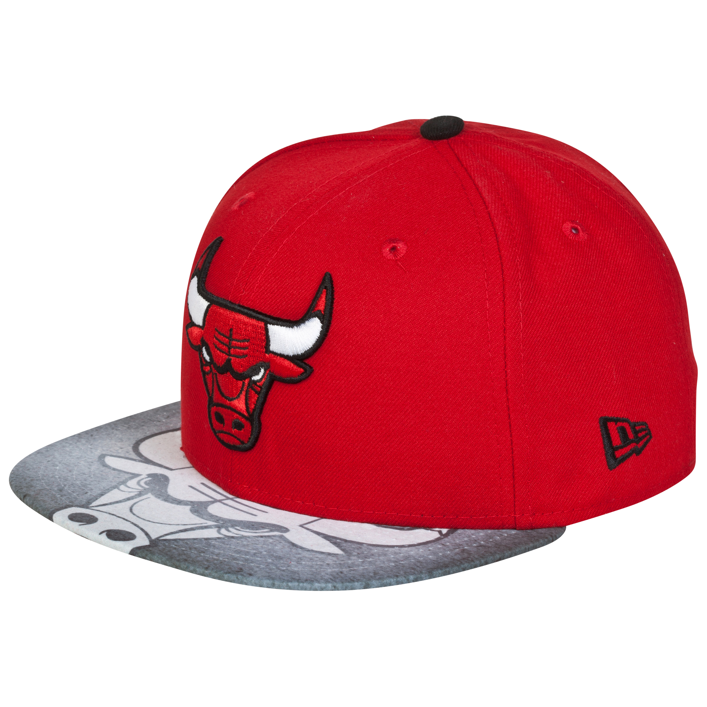 Chicago Bulls Vizasketch New Era 59FIFTY Fitted Cap