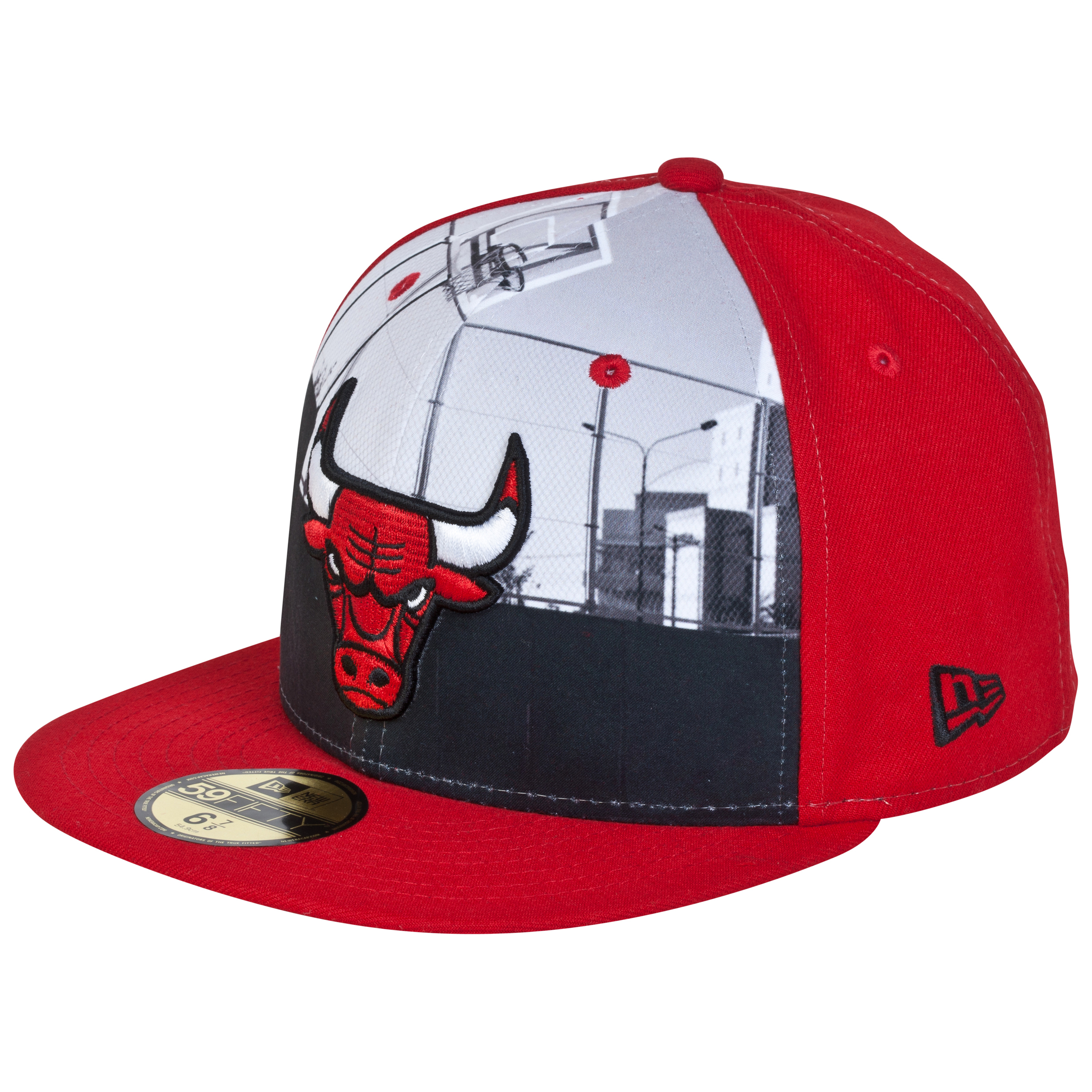 Chicago Bulls Round D Way New Era 59FIFTY Fi