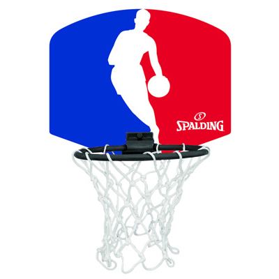 Spalding NBA Logoman Mini Backboards