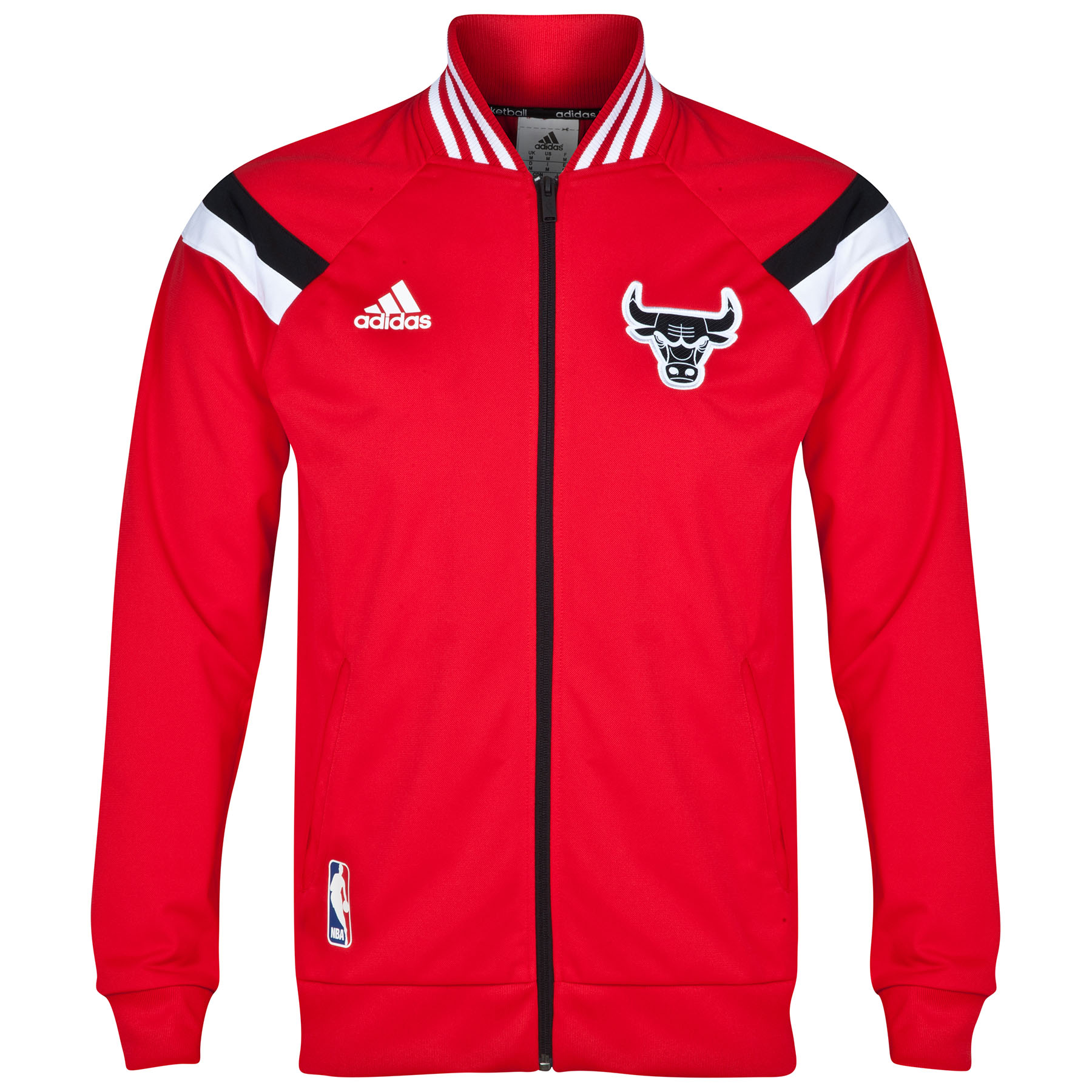 Chicago Bulls Winter Hoops Anthem Jacket Red