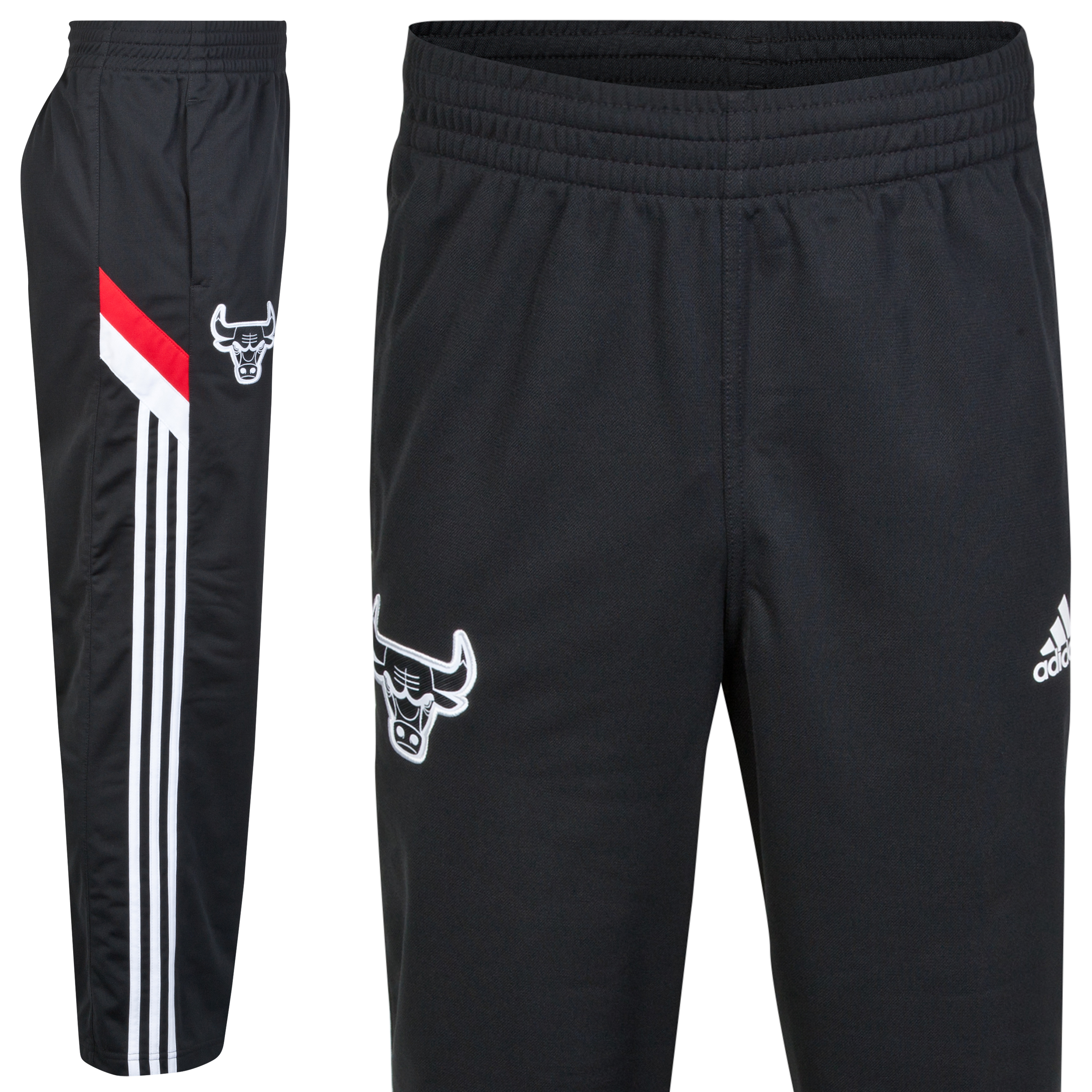 Chicago Bulls Winter Hoops Track Pant Black