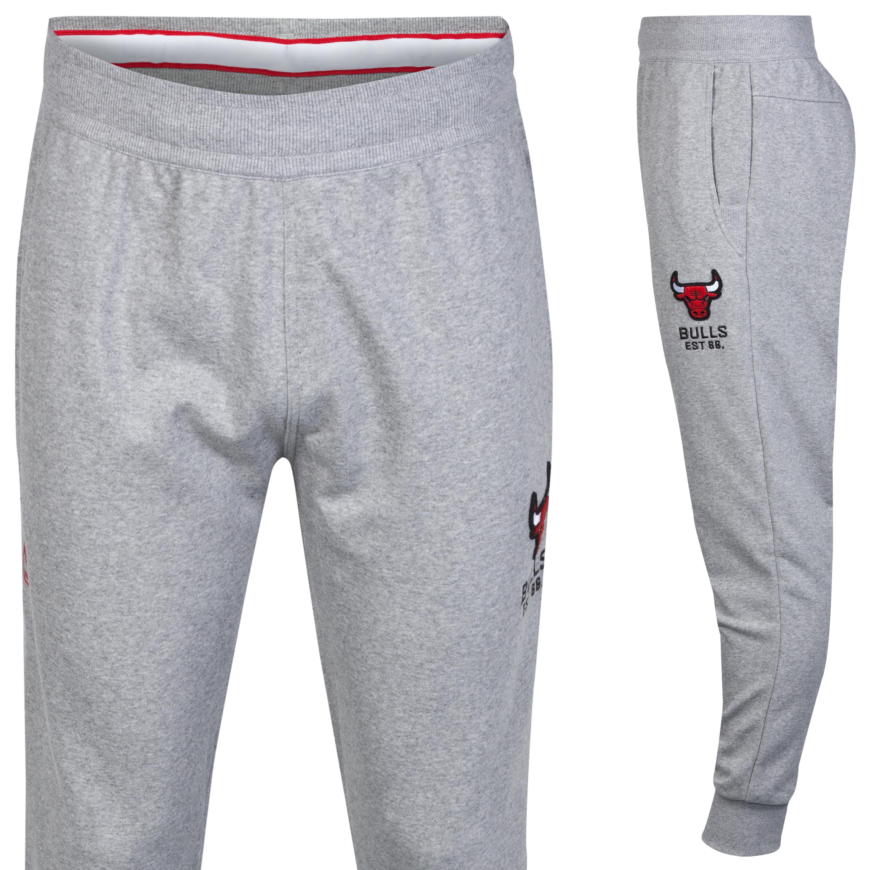 Chicago Bulls Washed Jog Pant Lt Grey