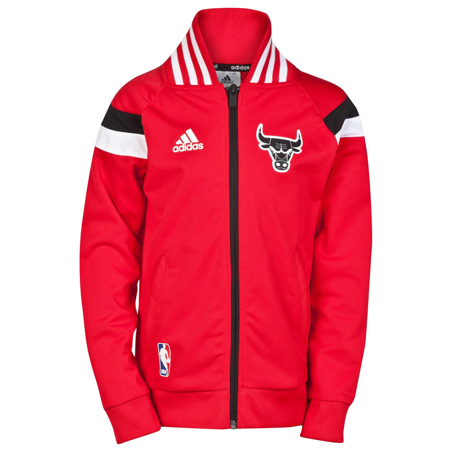 Chicago Bulls Winter Hoops Anthem Jacket - Junior Red