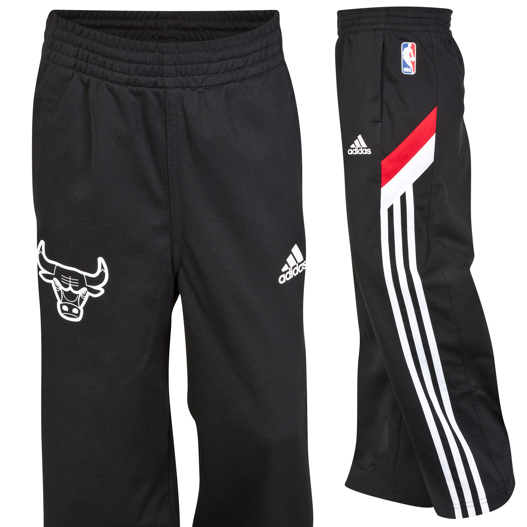 Chicago Bulls Winter Hoops Track Pant - Junior Black