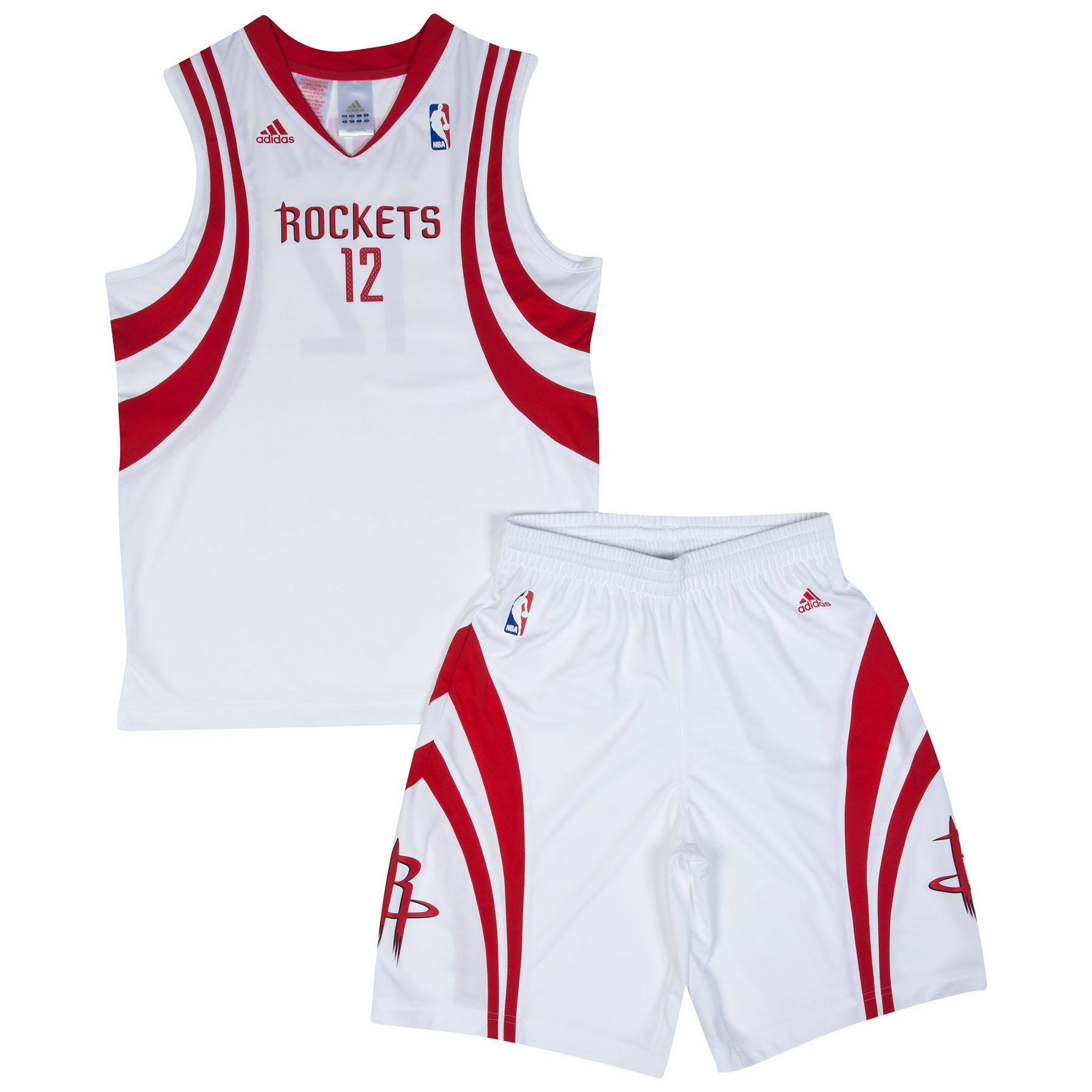 Houston Rockets Home Replica Jersey & Shorts - Dwight Howard - Junior