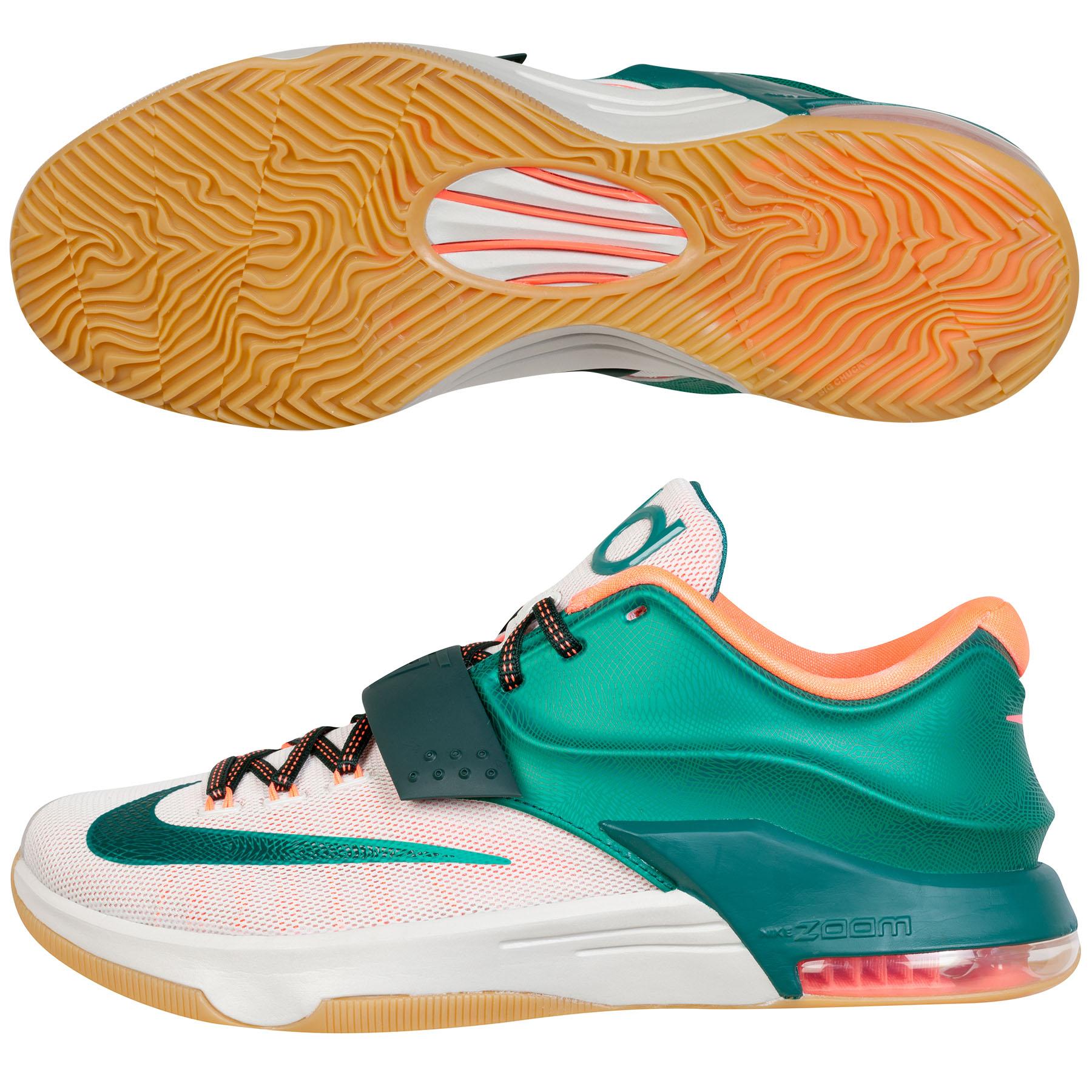 Nike KD VII Basketball Shoe - Mystic Green