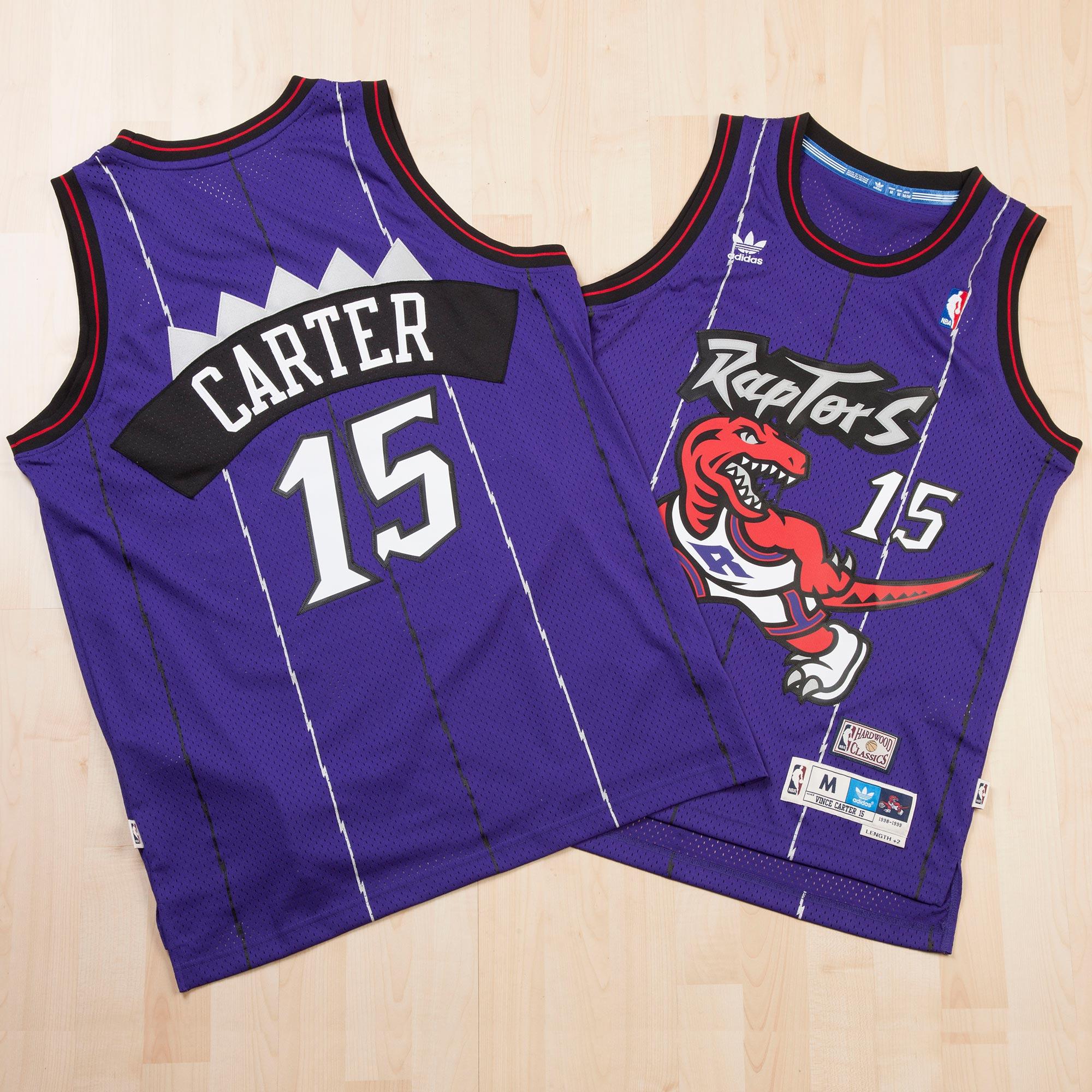 Toronto Raptors Road Soul Swingman Jersey - Vince Carter - Mens