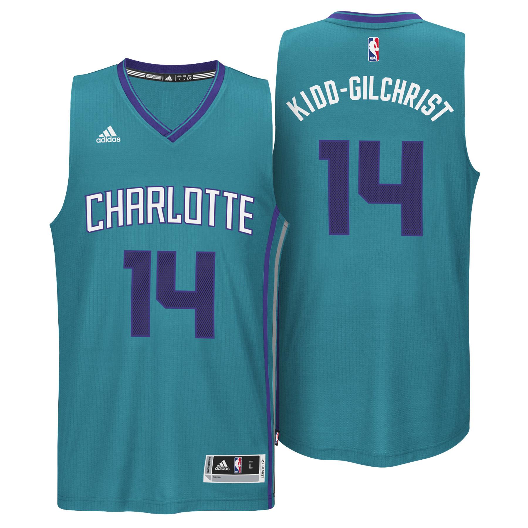 Charlotte Hornets Alternate Swingman Jersey - Michael Kidd-Gilchrist - Mens
