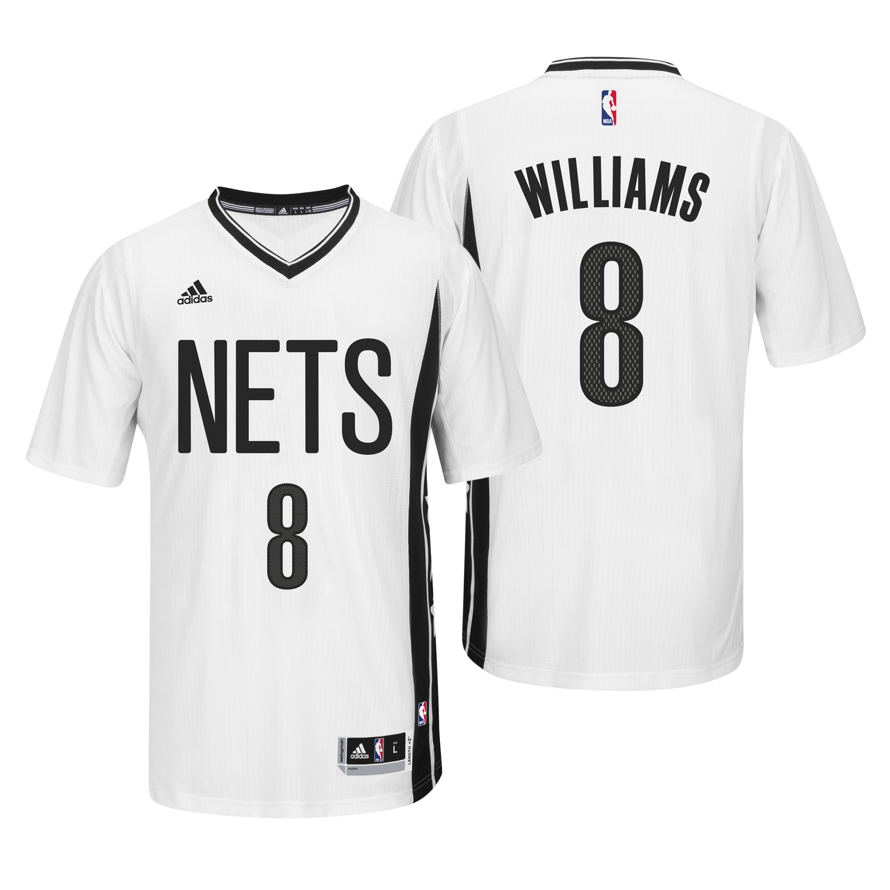 Brooklyn Nets Pride Swingman Jersey - Deron Williams - Mens