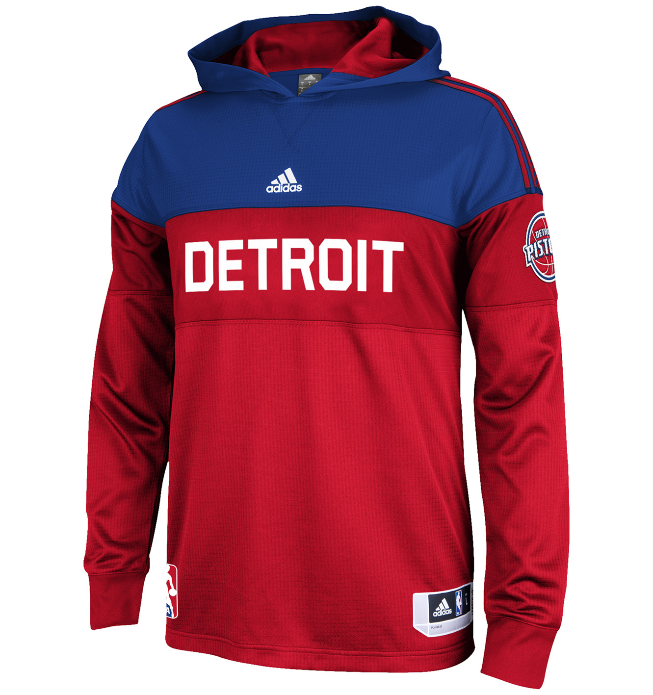 Detroit Pistons On Court Hooded Shooter 14-15