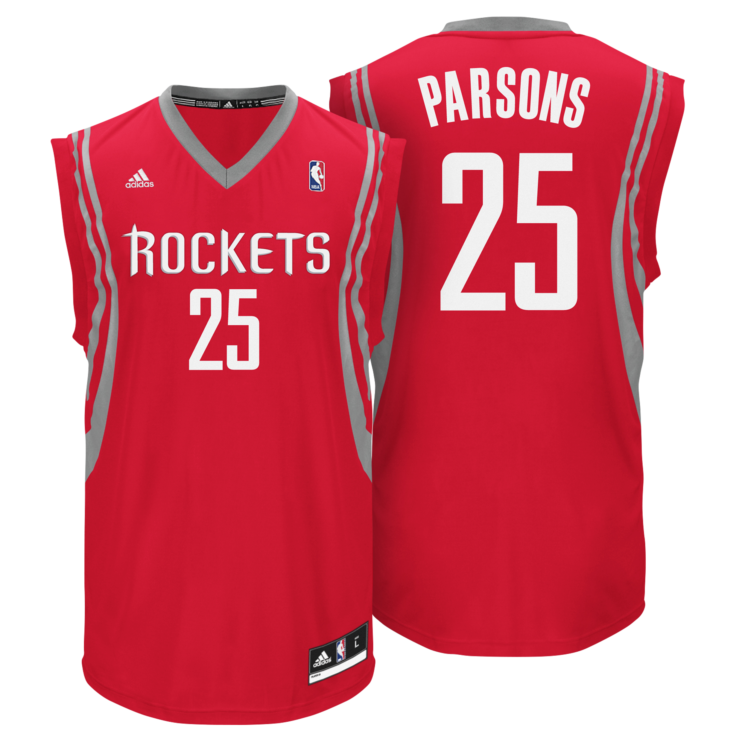 Houston Rockets Road Replica Jersey - Parsons - Mens