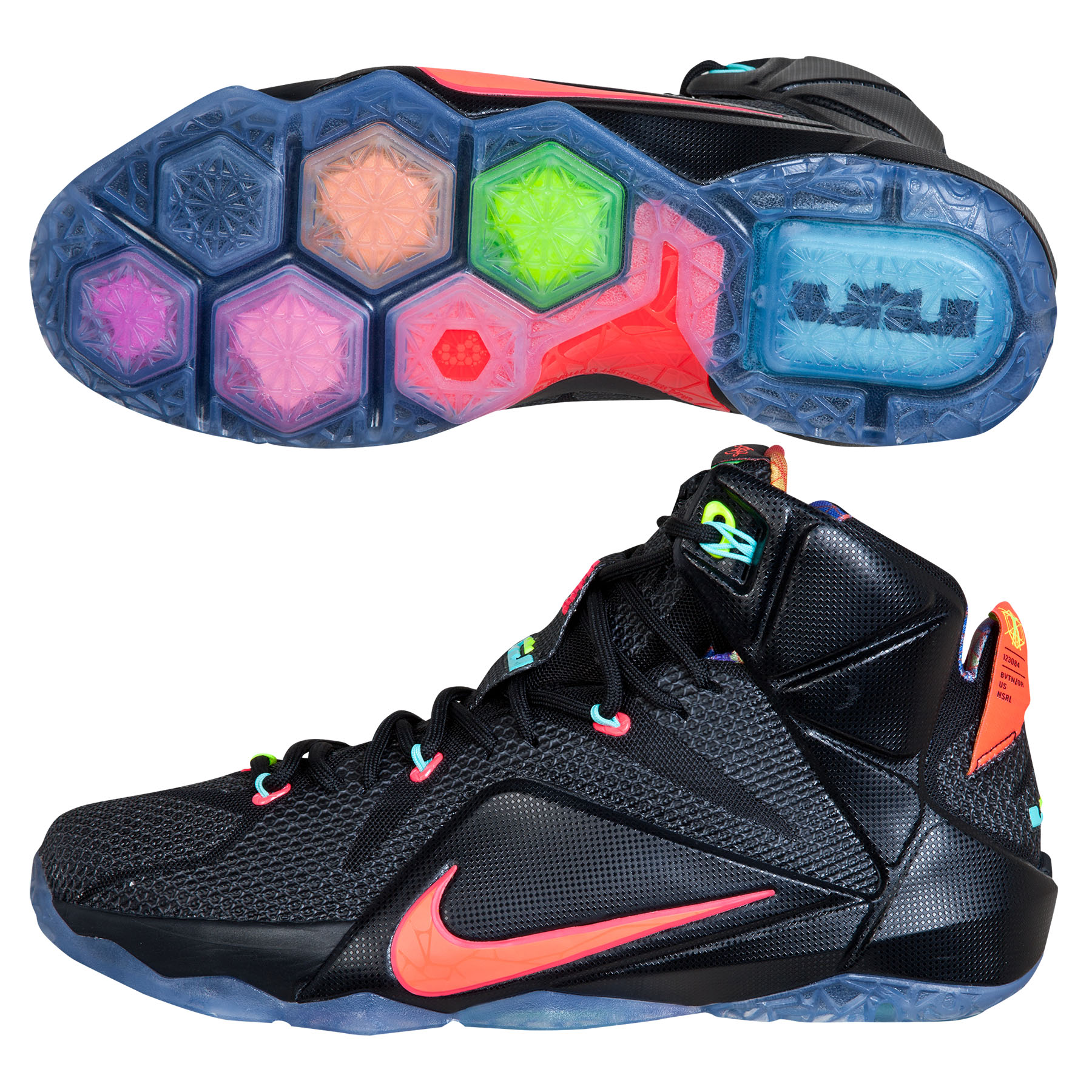 Nike Lebron XII Basketball Shoe - Data