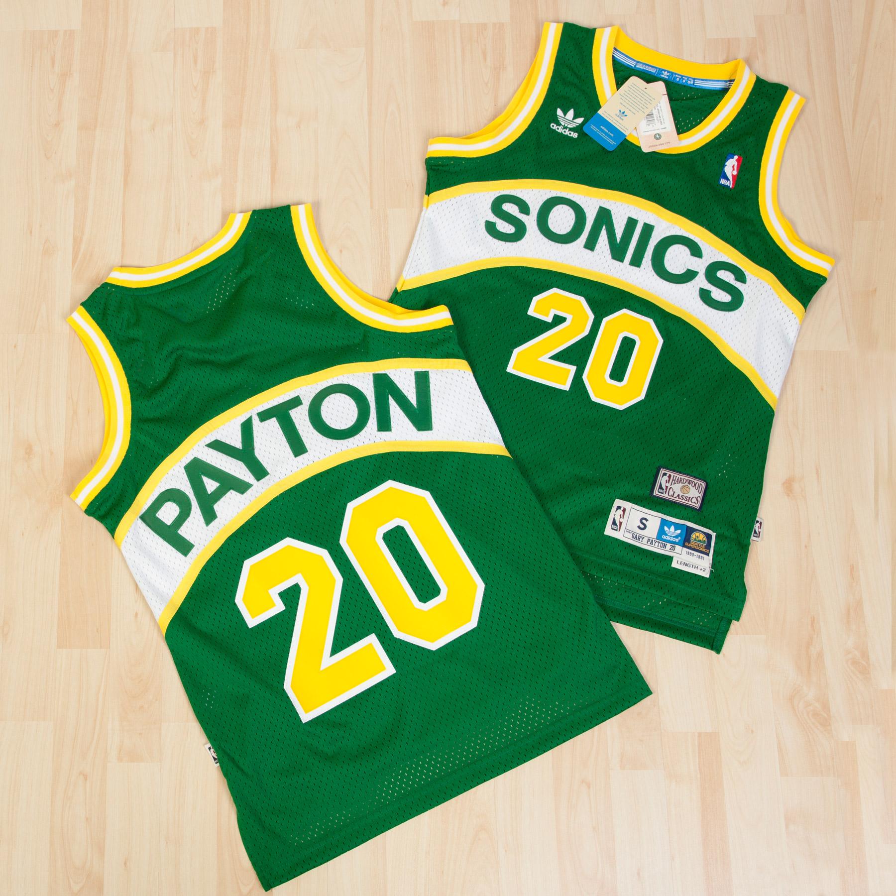 Seattle Supersonics Road Soul Swingman Jersey - Gary Payton - Mens